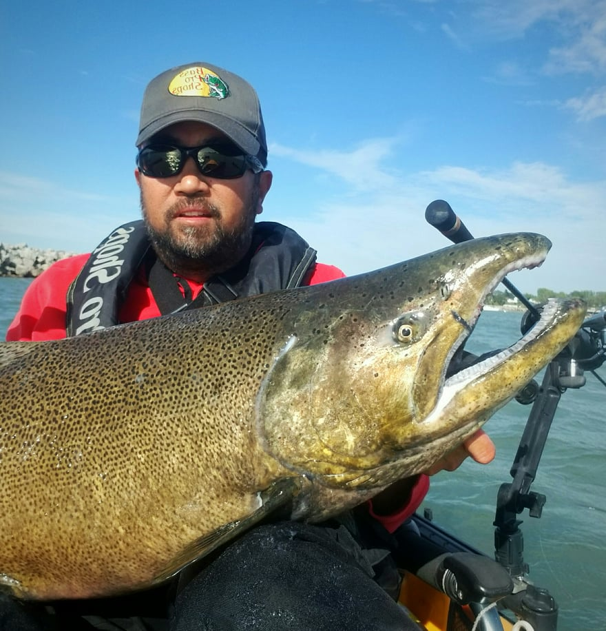 Gerard Urbanozo joined the 30-pound club with this Chinook. Provided photo