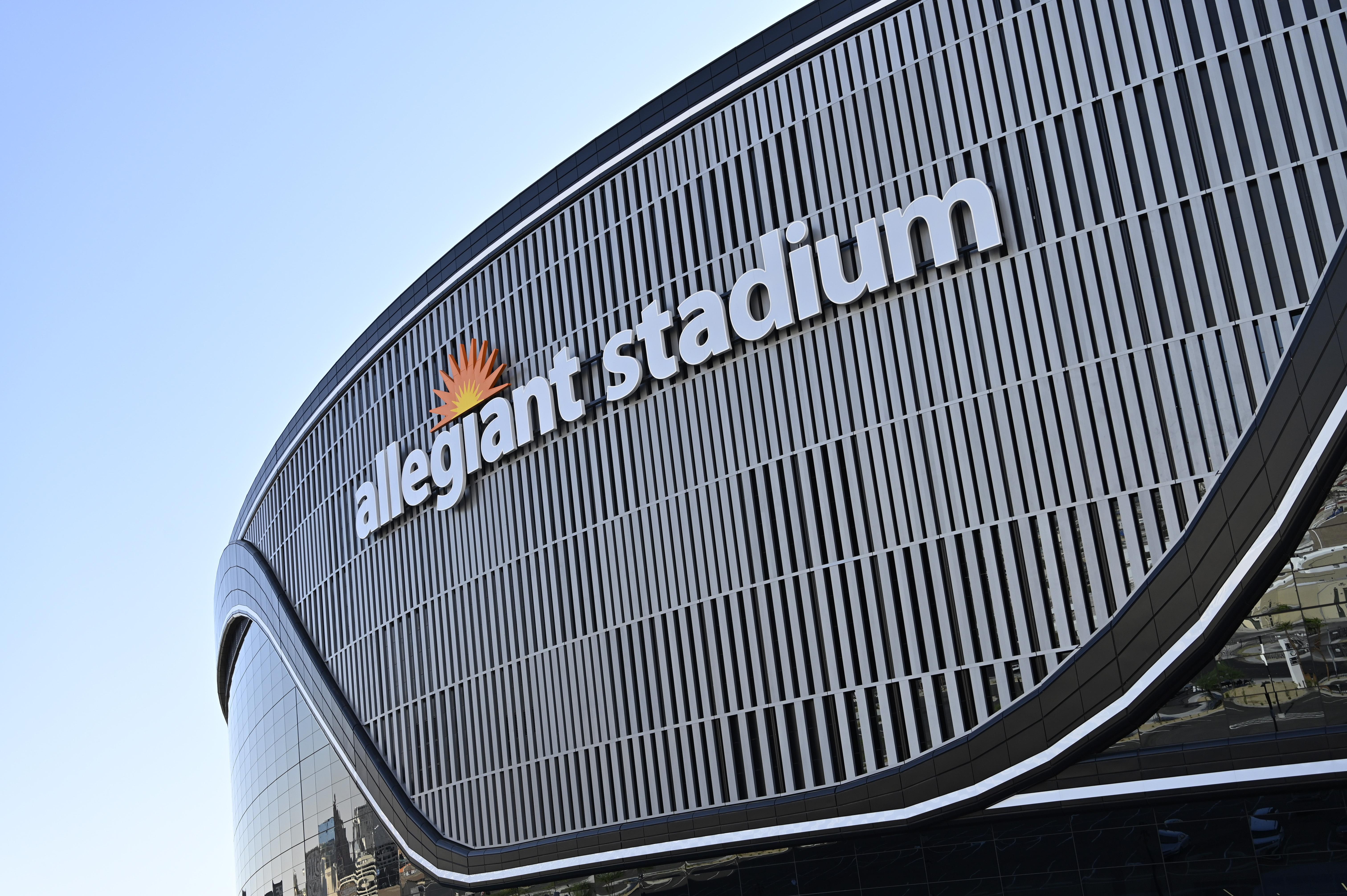 Allegiant Stadium in Las Vegas will host the Notre Dame-BYU game in 2022.