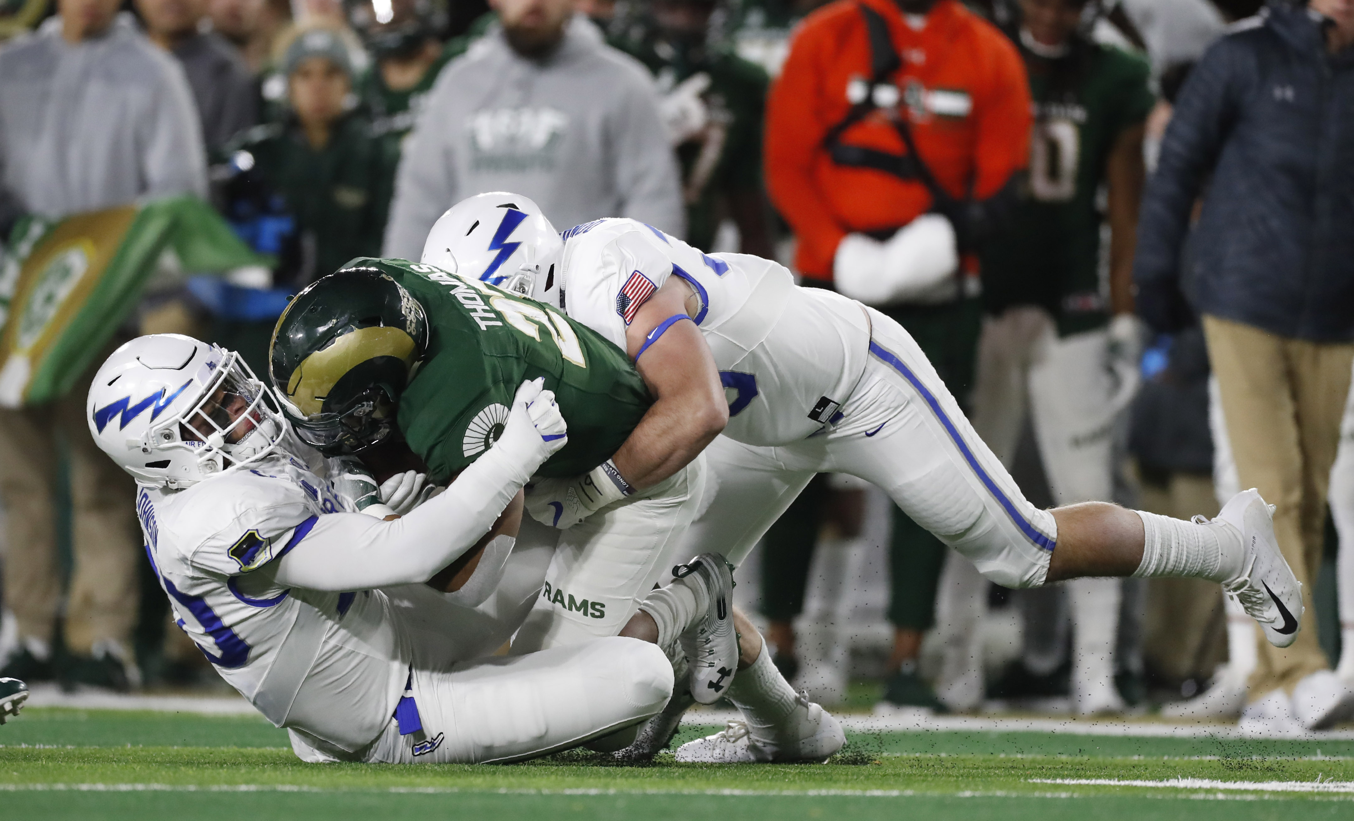 Multiple reports indicate that Air Force and Colorado State could join the American Athletic Conference.