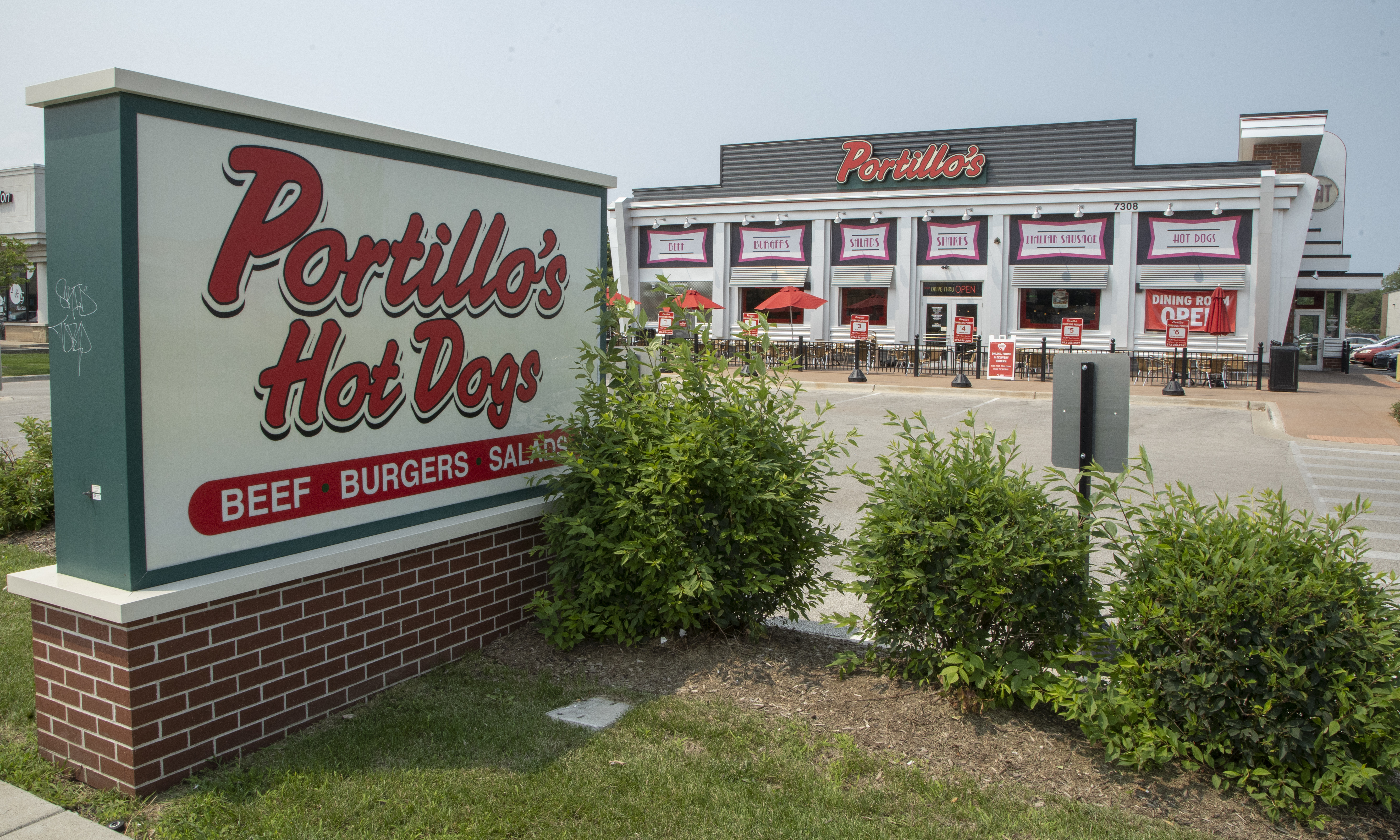 The Portillo's Hot Dogs at 7308 W. Lawrence Ave.