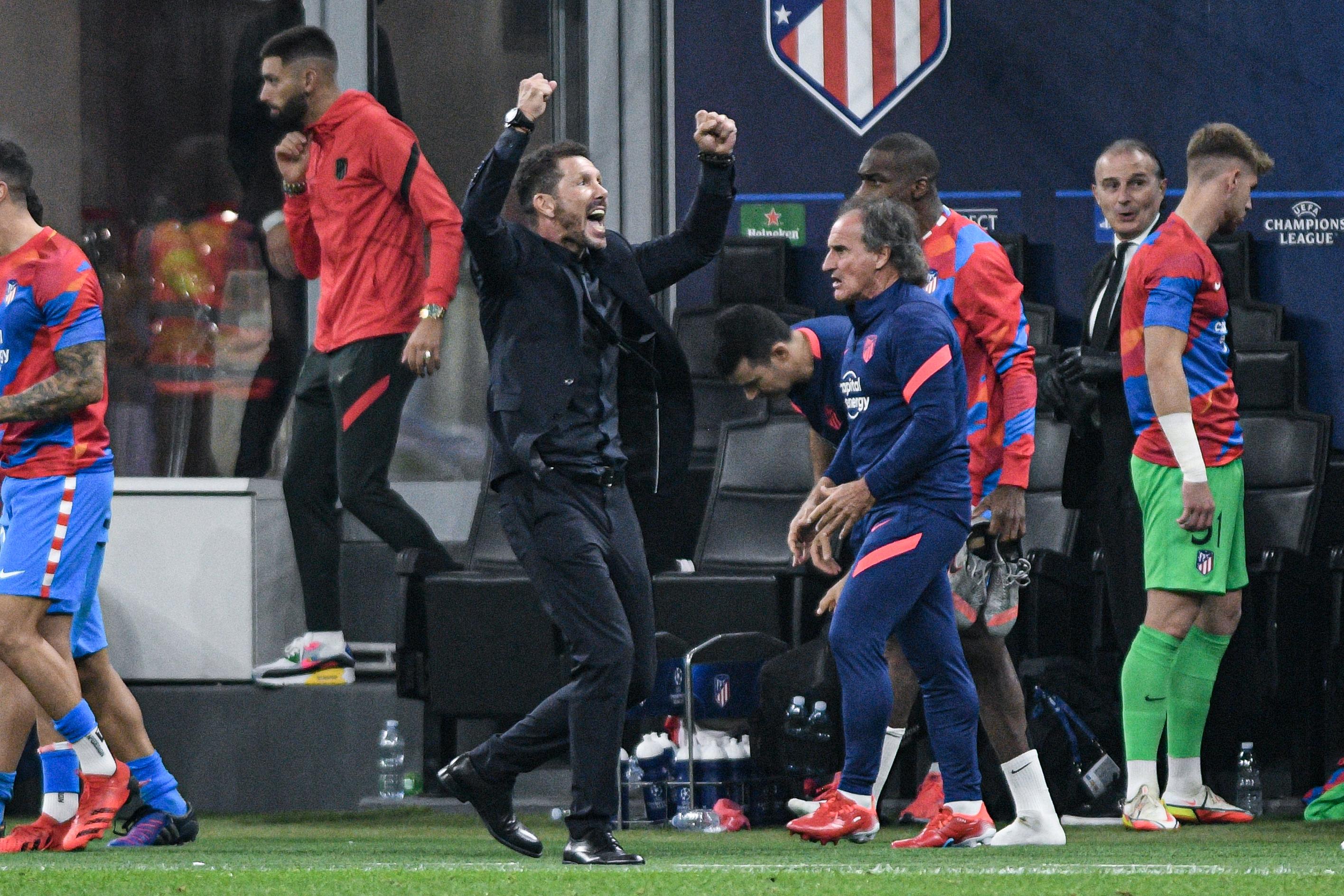 AC Milan v Atletico Madrid - UEFA Champions League