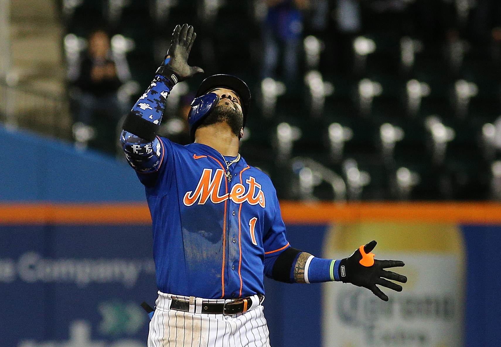 MLB: Miami Marlins at New York Mets-Game Two