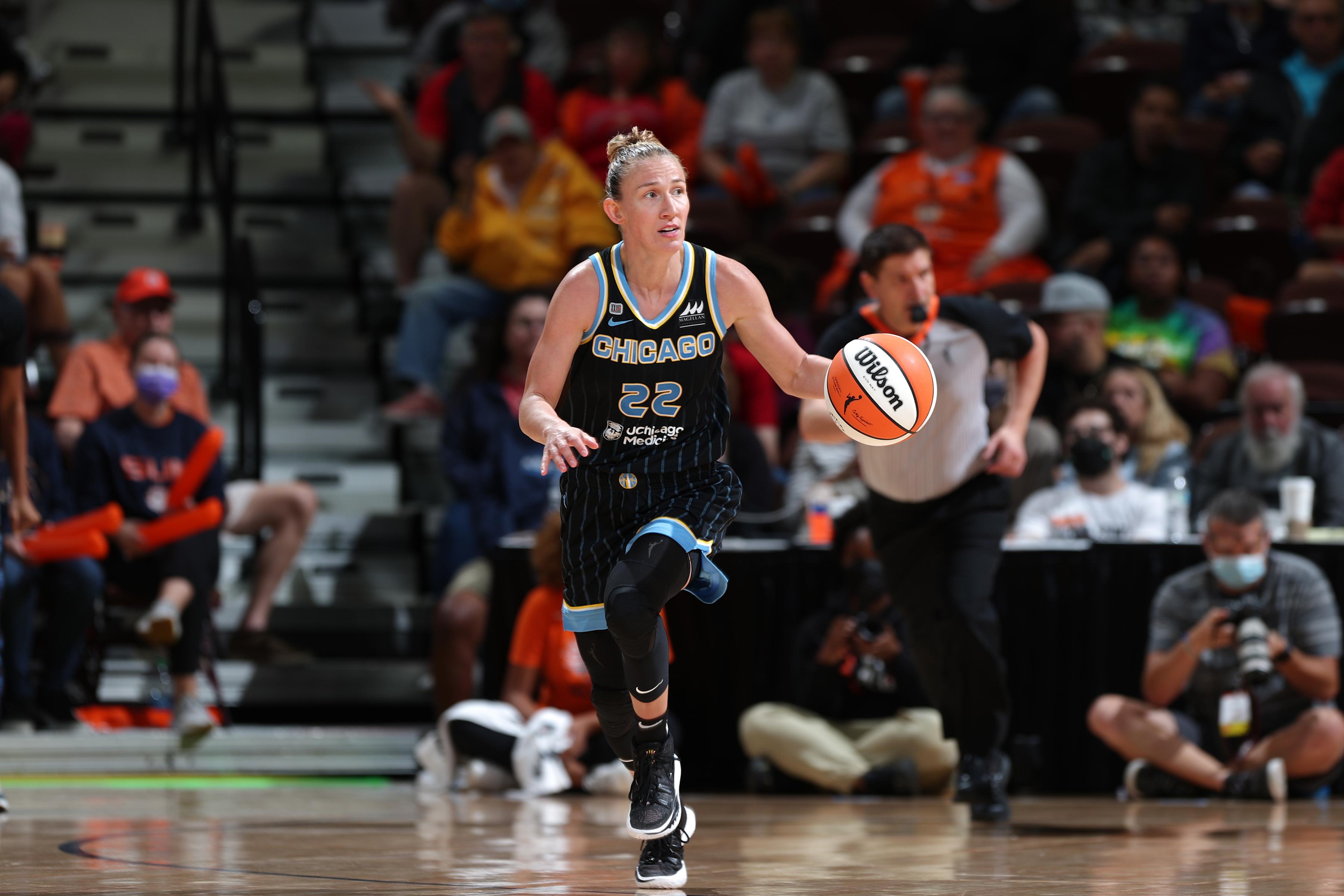 2021 WNBA Playoffs Semifinals - Chicago Sky v Connecticut Sun