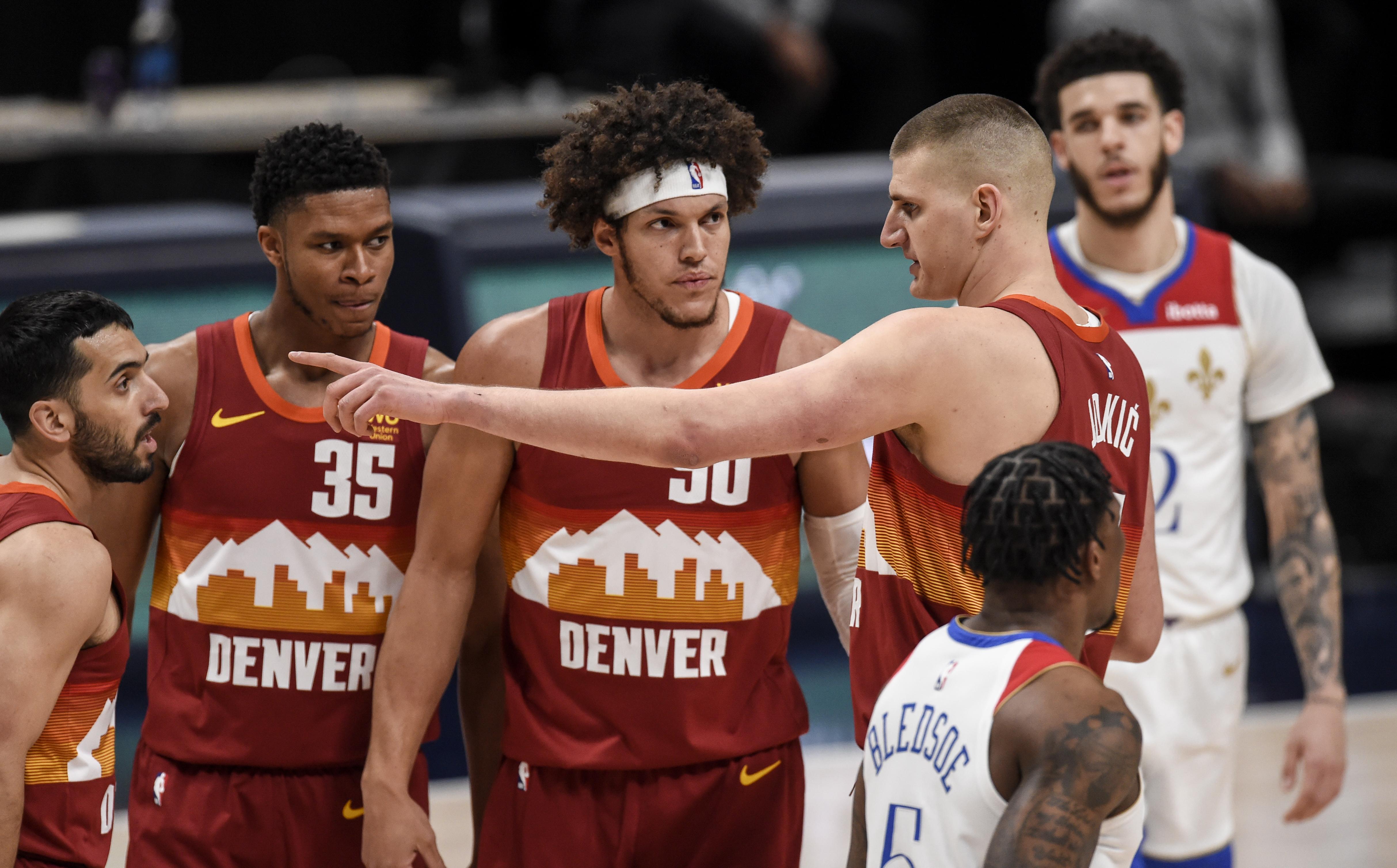 DENVER NUGGETS VS NEW ORLEANS PELICANS, NBA