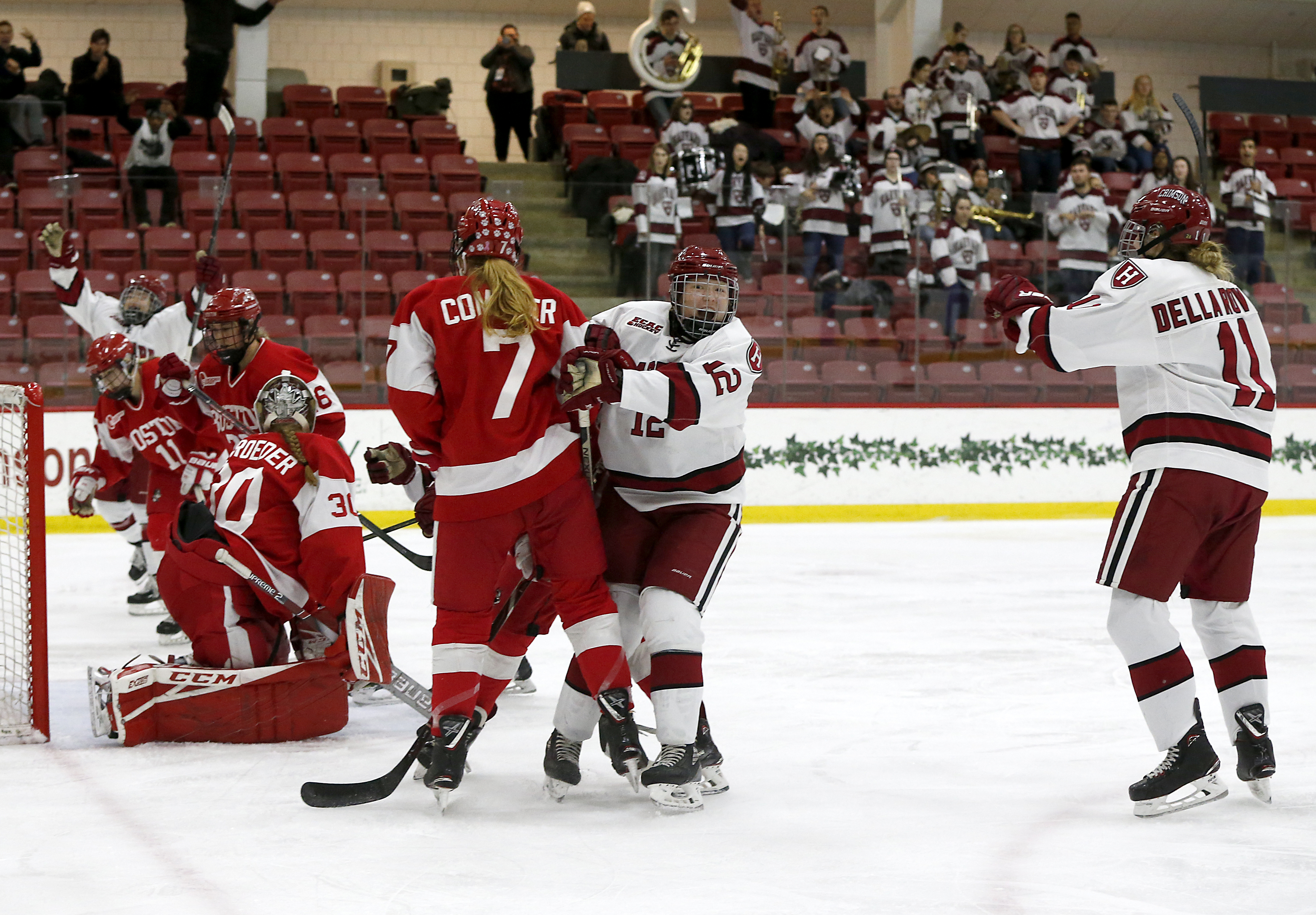 Women's Beanpot Championship Game: Boston University Vs Harvard University At Bright-Landry Hockey Center