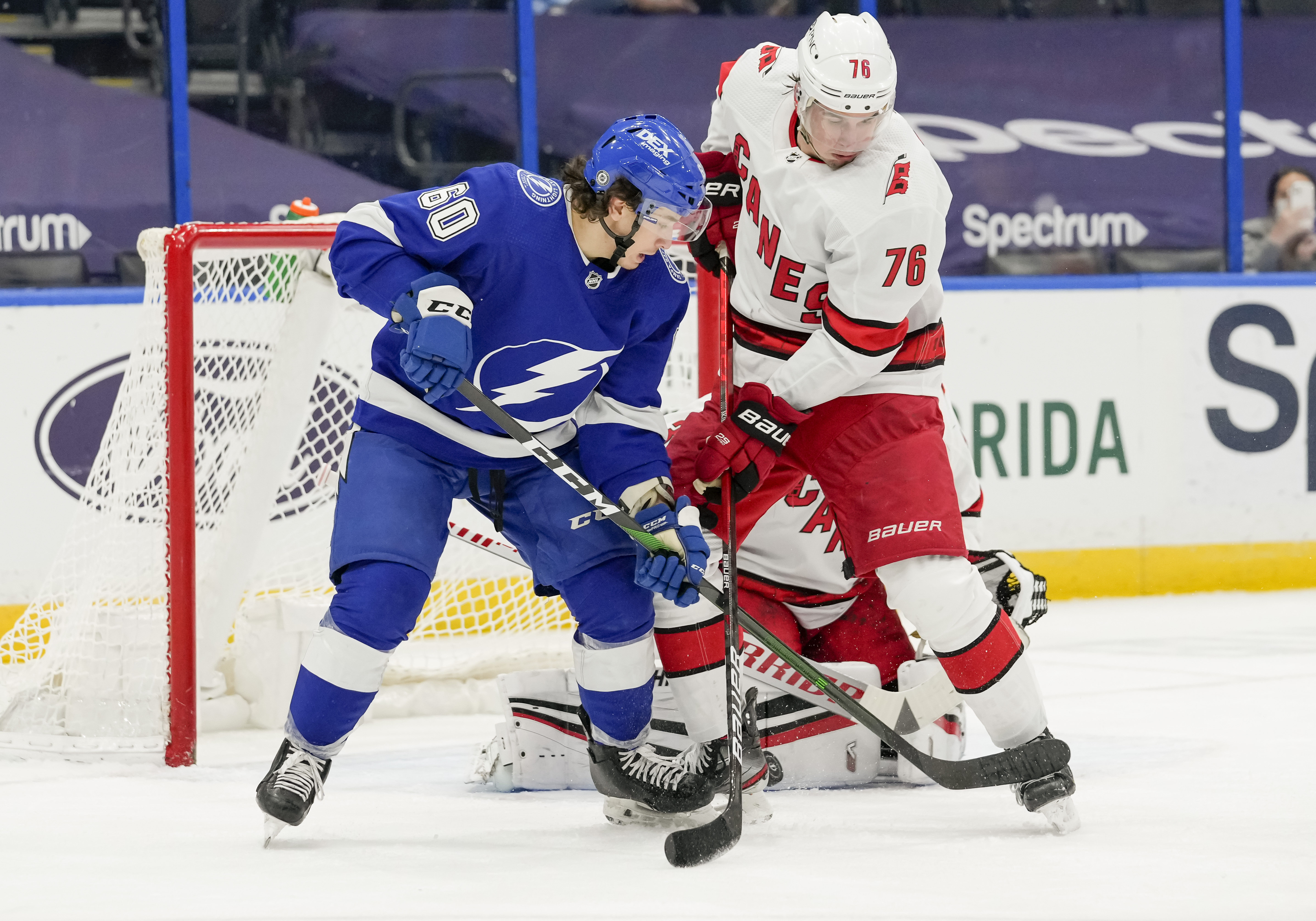 NHL: APR 19 Hurricanes at Lightning