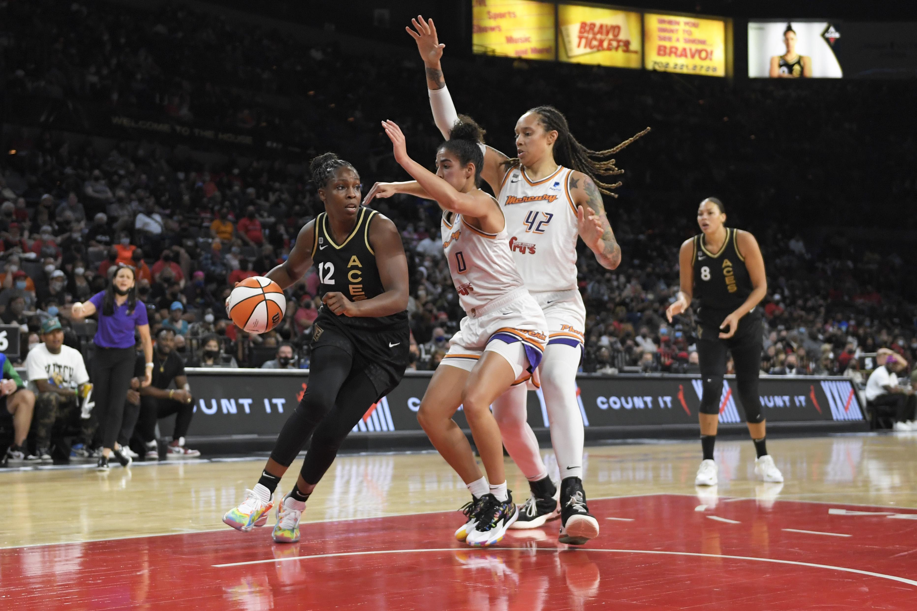 2021 WNBA Playoffs - Phoenix Mercury v Las Vegas Aces
