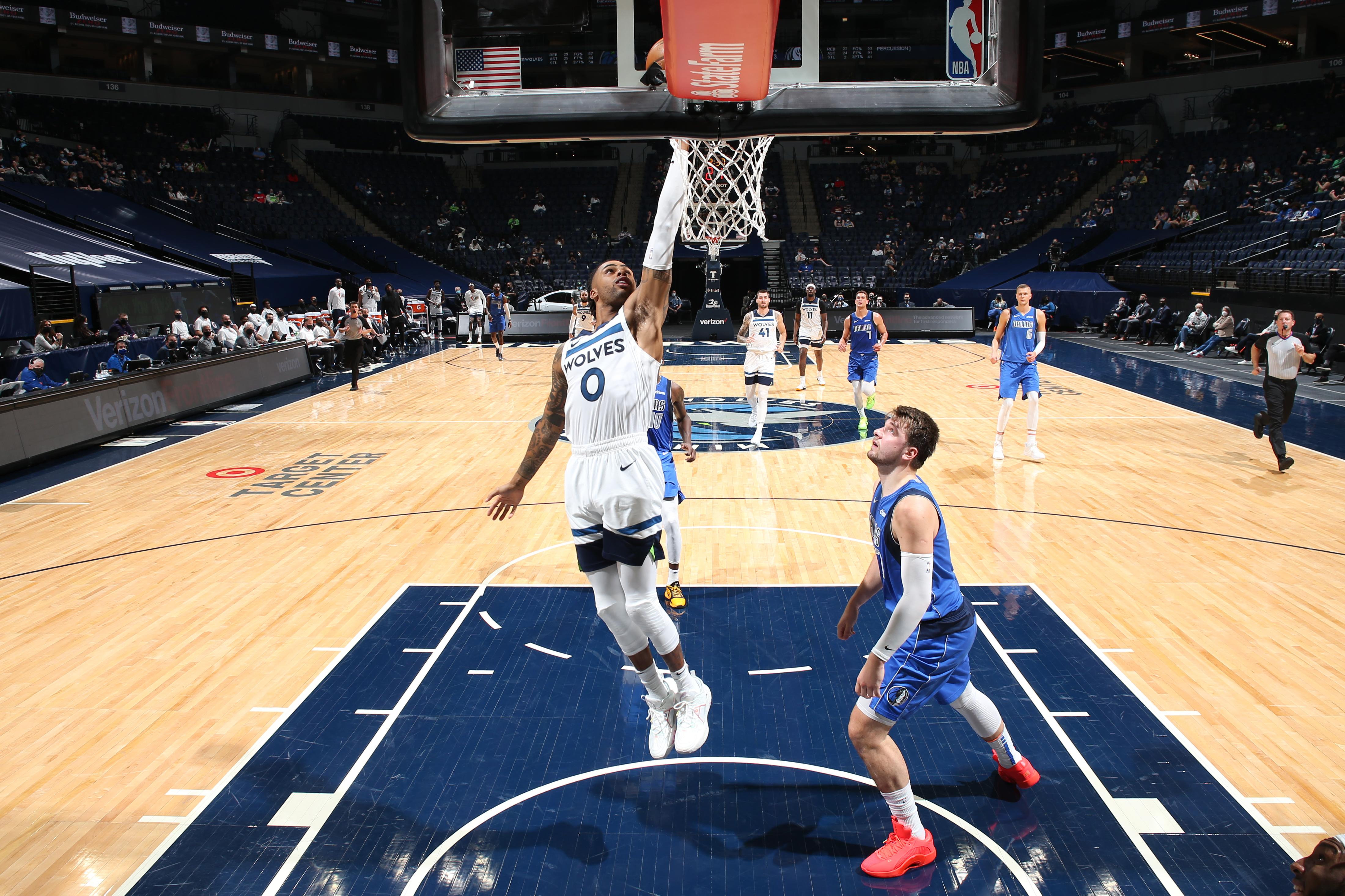 Dallas Mavericks v Minnesota Timberwolves