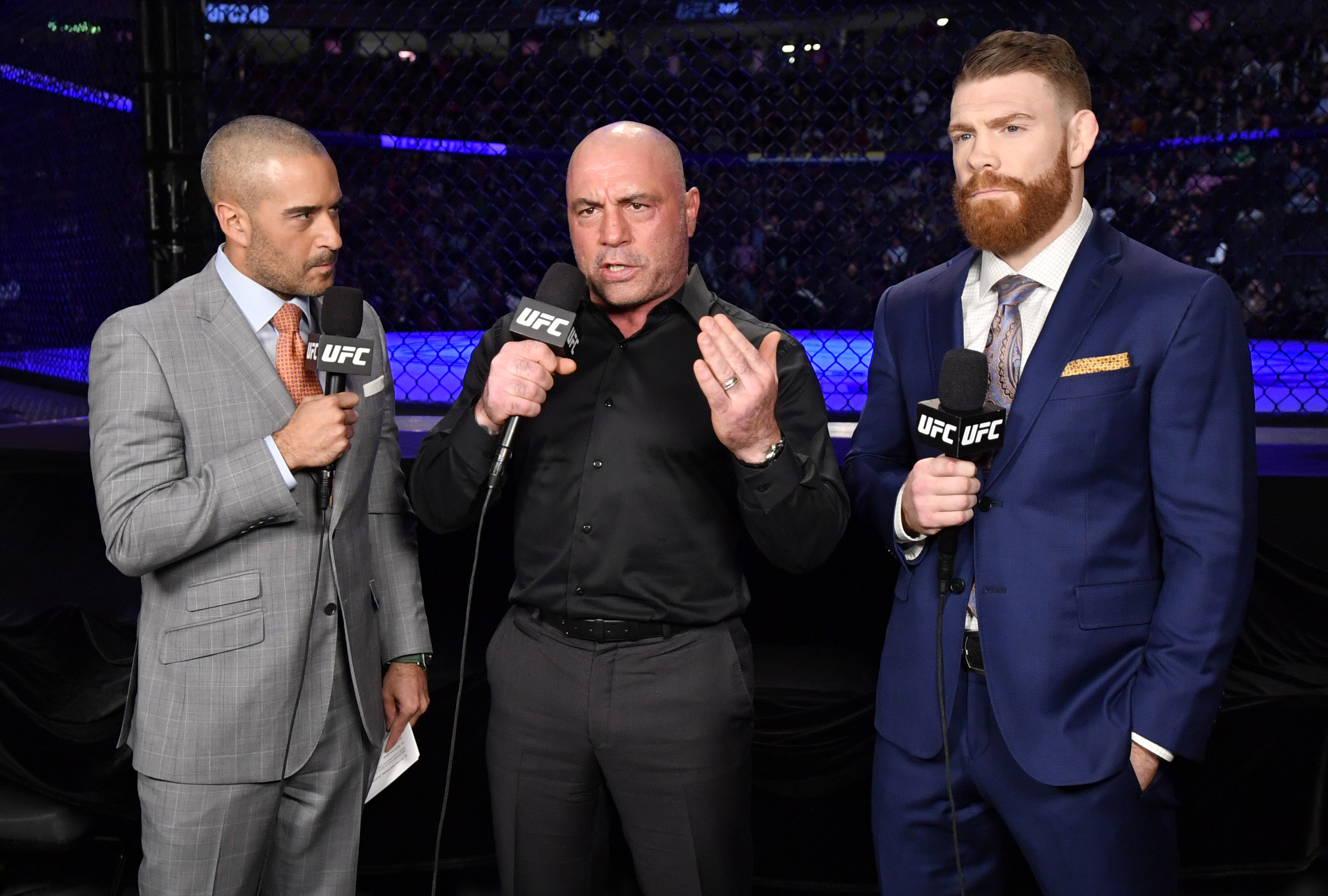 Joe Rogan has skipped the past two UFC pay-per-view events