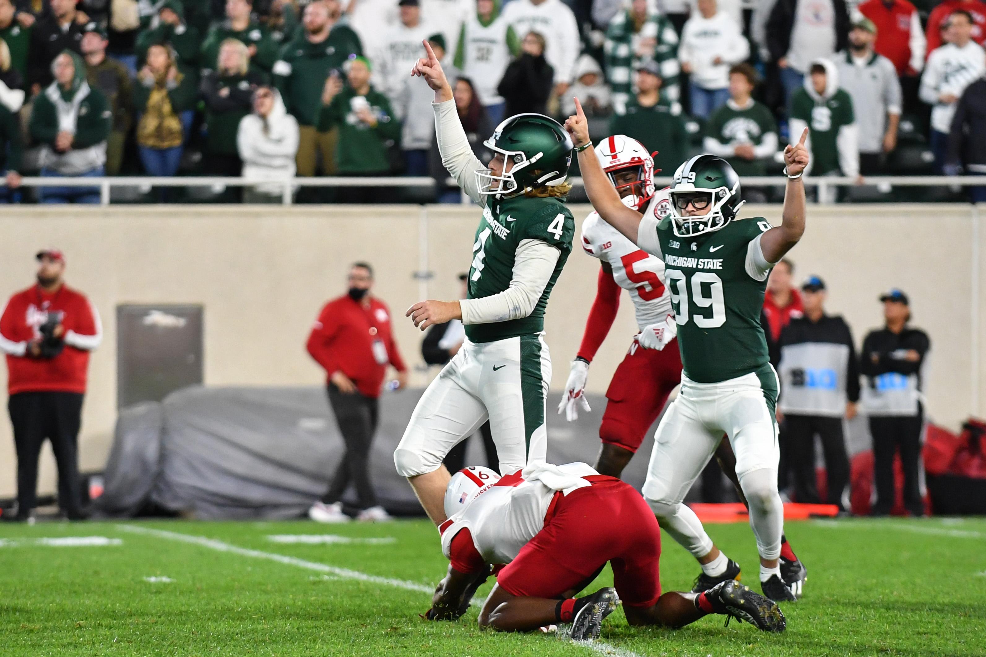 COLLEGE FOOTBALL: SEP 25 Nebraska at Michigan State