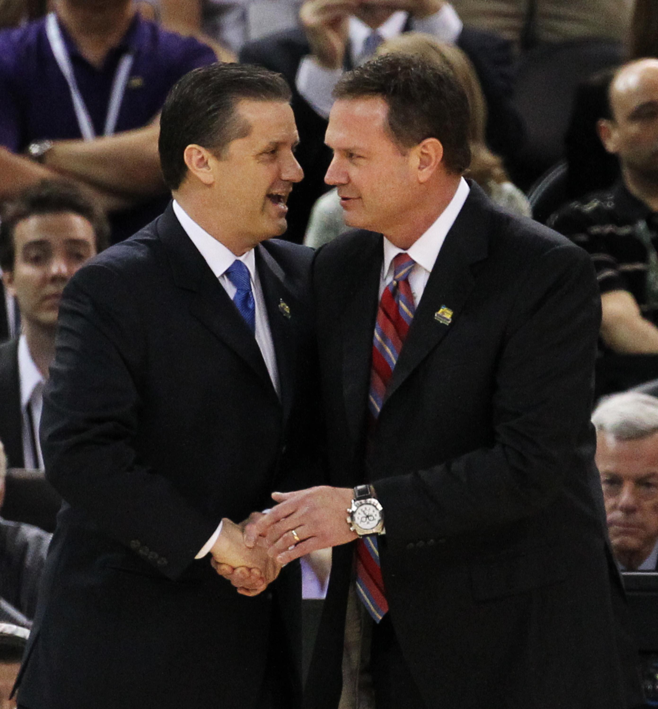 NCAA Tournament, FINALS: Kansas v. Kentucky