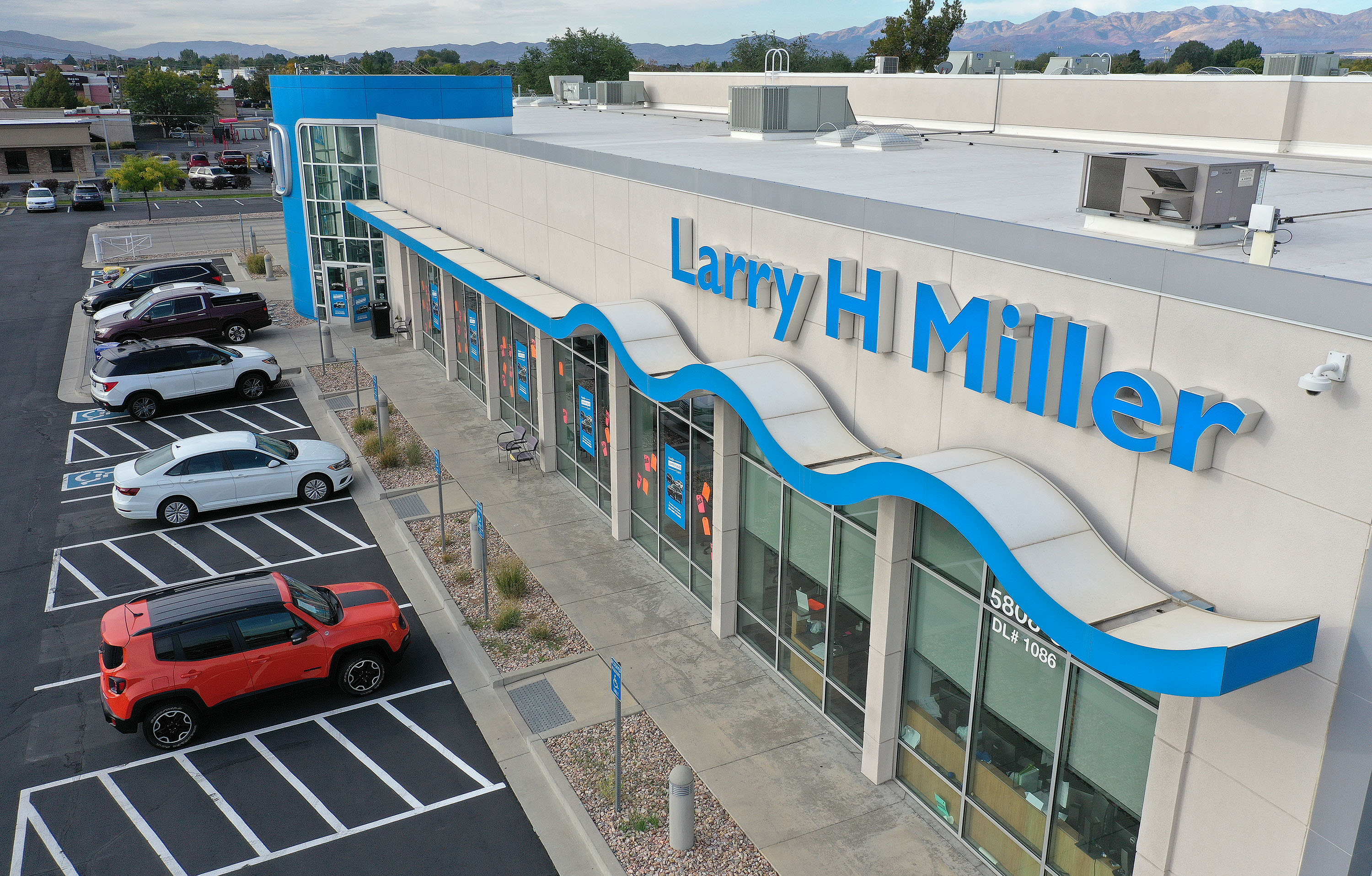 The Larry H. Miller Honda dealership in Murray is pictured on Wednesday, Sept. 29, 2021. Asbury Automotive Group Inc. entered into a definitive agreement to acquire Larry H. Miller Dealerships, the eighth-largest dealer group in the United States.