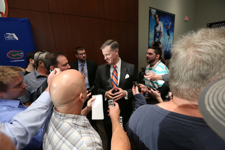 NCAA Football: Florida-Head Coach Dan Mullen Press Conference
