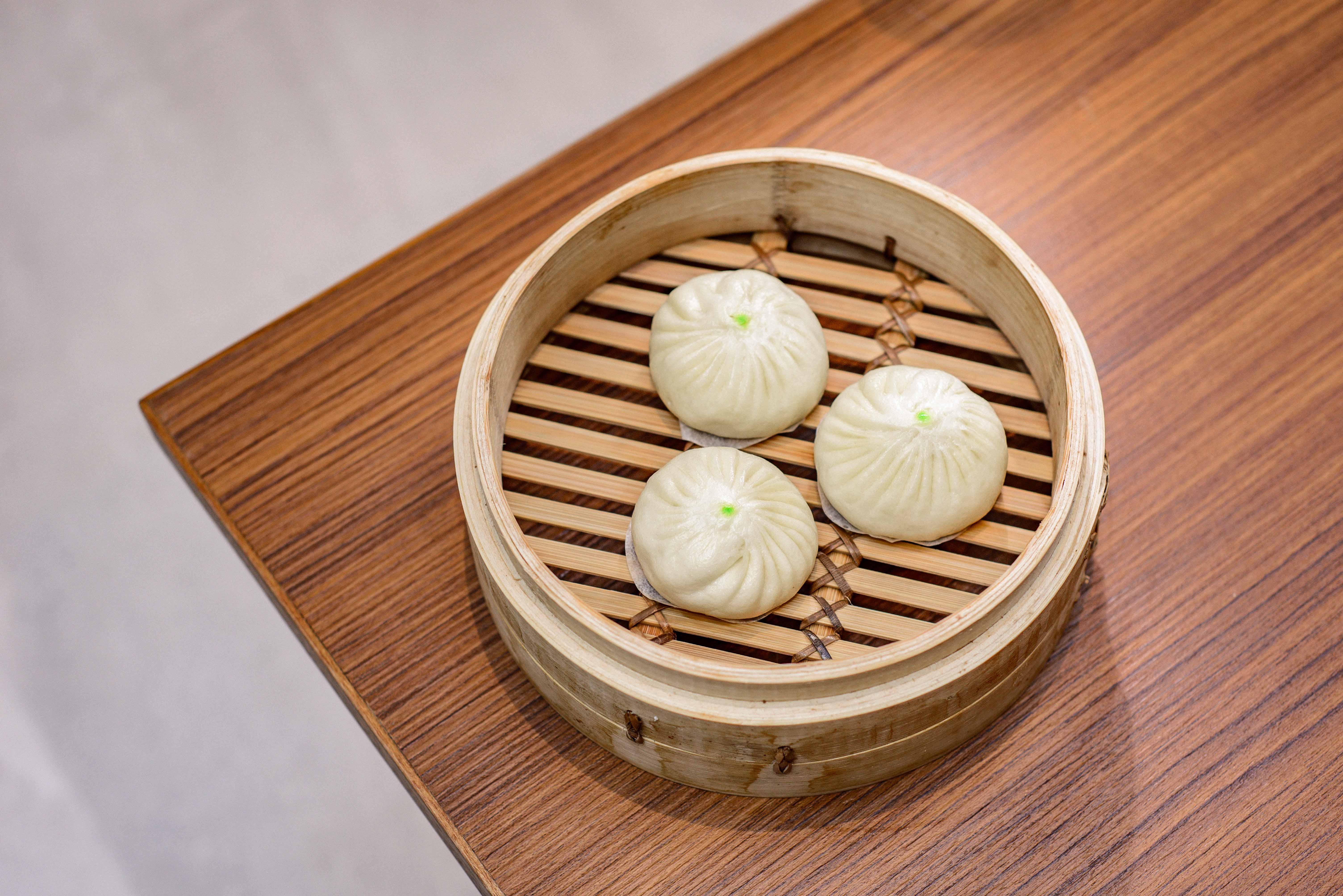 Xiaolongbao dumplings on the menu at Din Tai Fung's first London restaurant opening