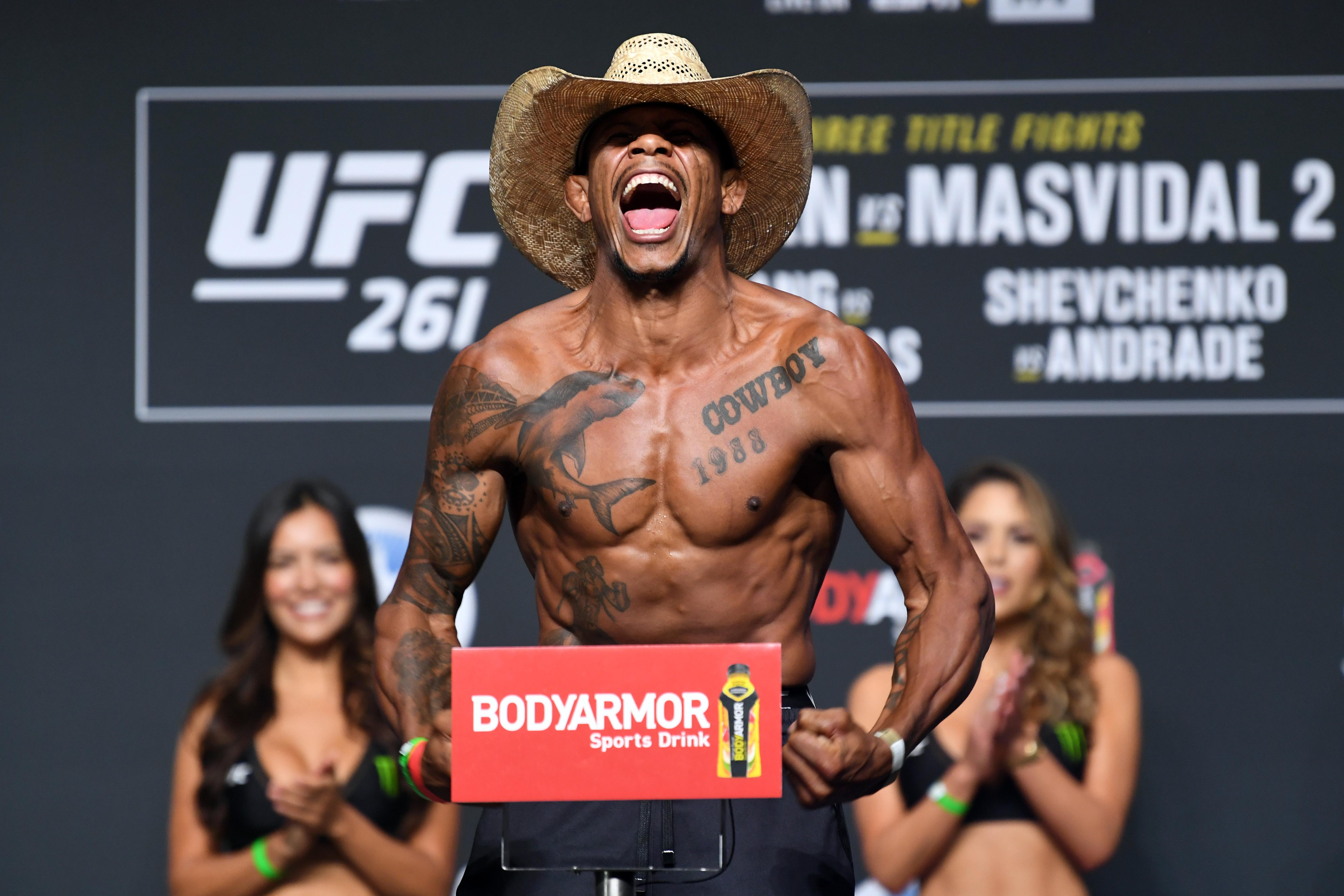 UFC 261 Weigh-in