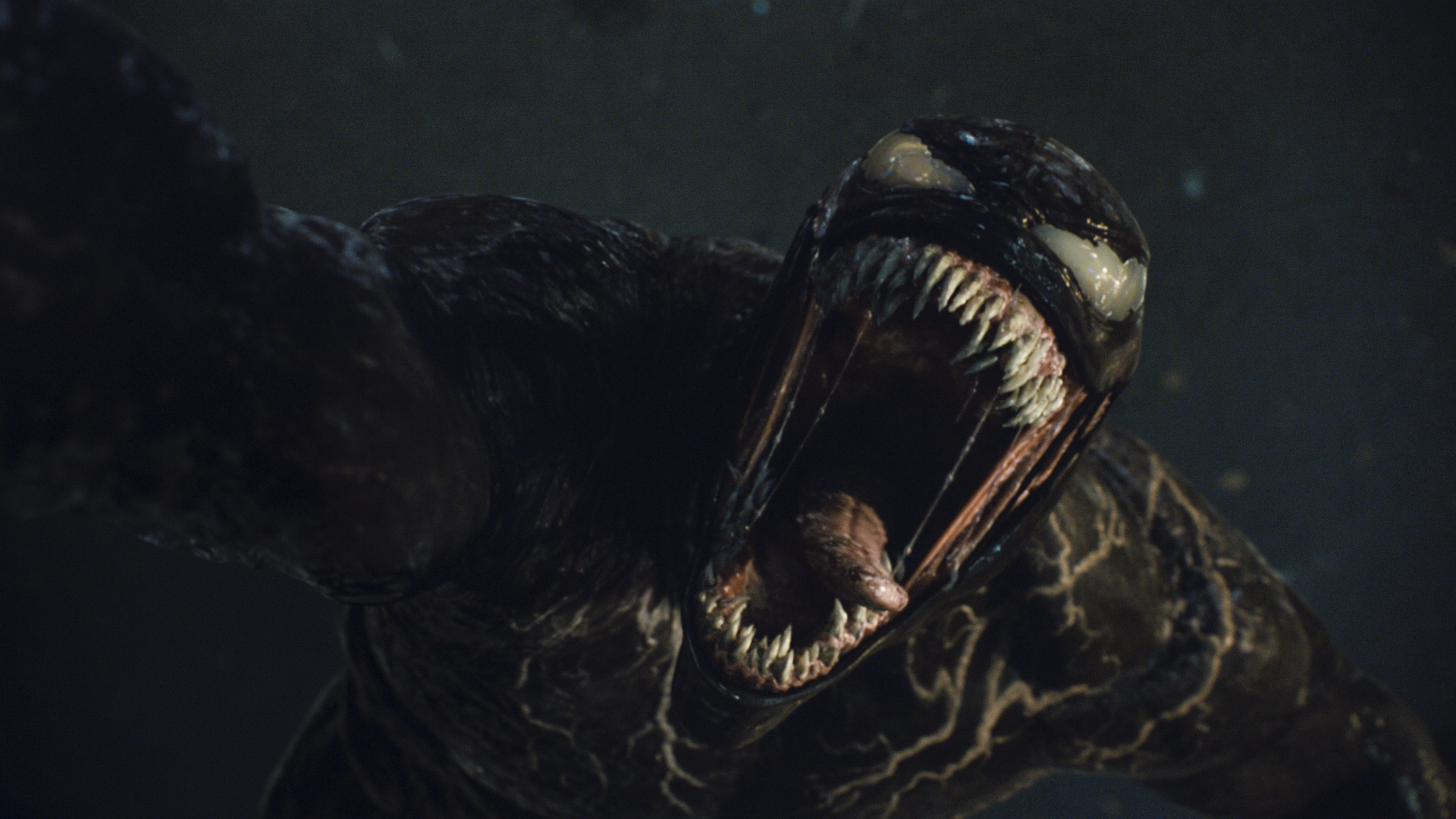Venom screams in Let There Be Carnage
