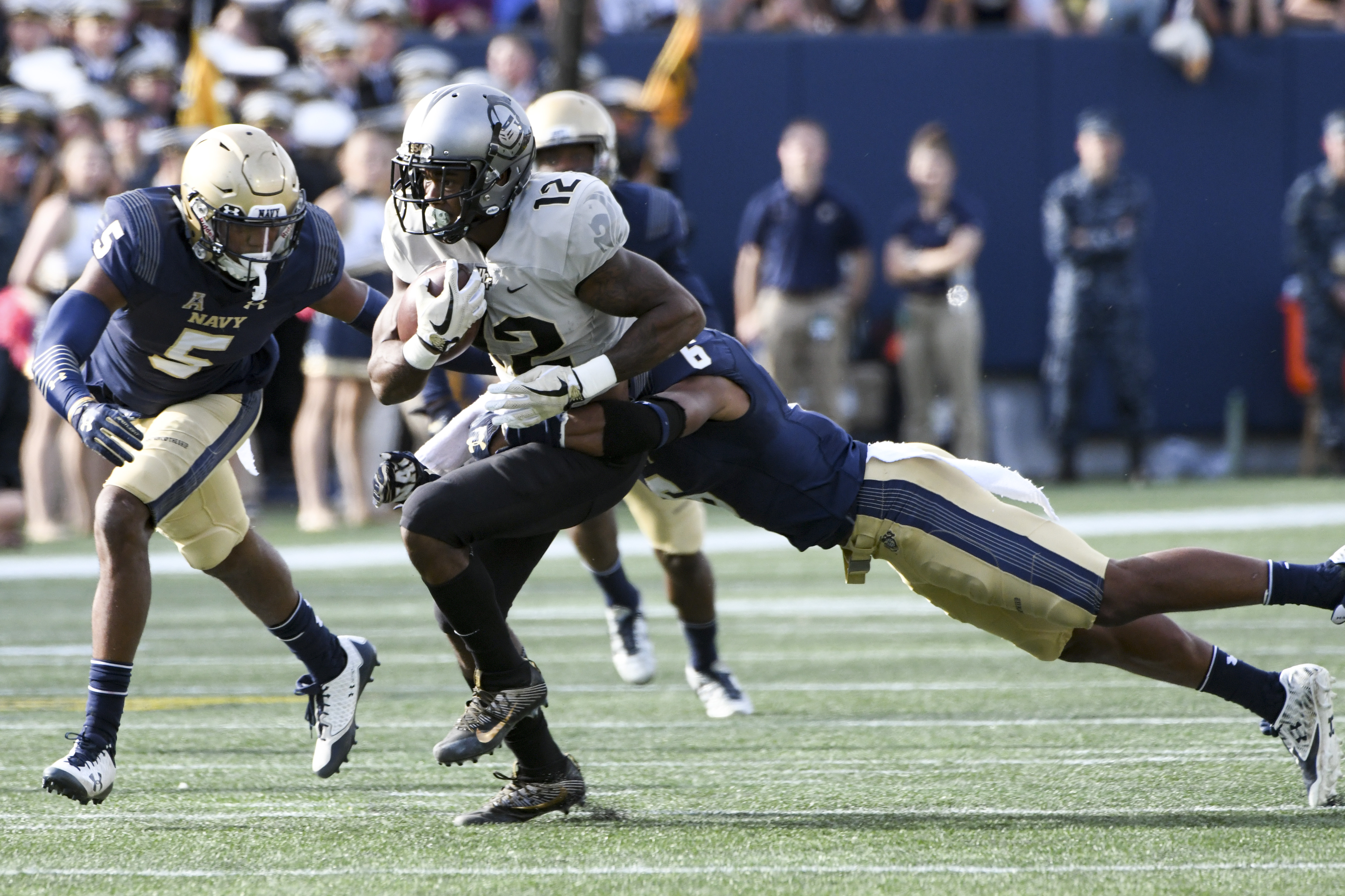 COLLEGE FOOTBALL: OCT 21 UCF at Navy