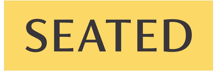 Seated logo