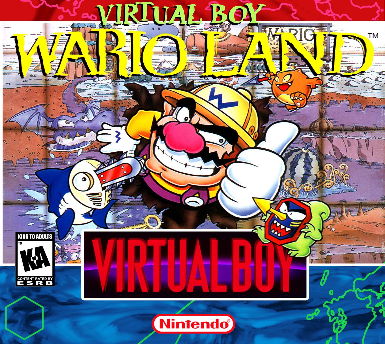 The box art for Virtual Boy Wario Land