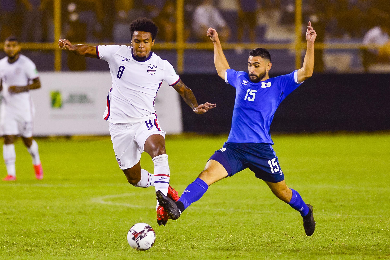 萨尔瓦多vs美国-中北美洲和加勒比地区足球联合会2022卡塔尔预选赛