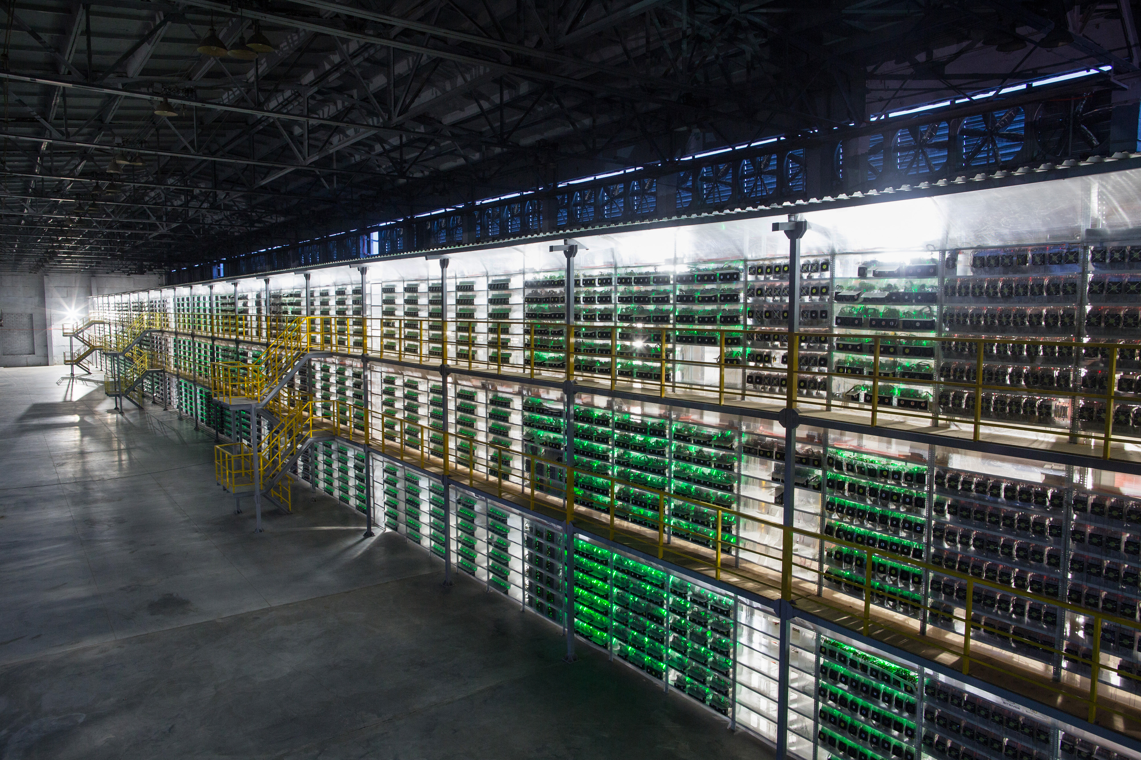 Russia's Largest Bitcoin Mine Turns Water Into Cash