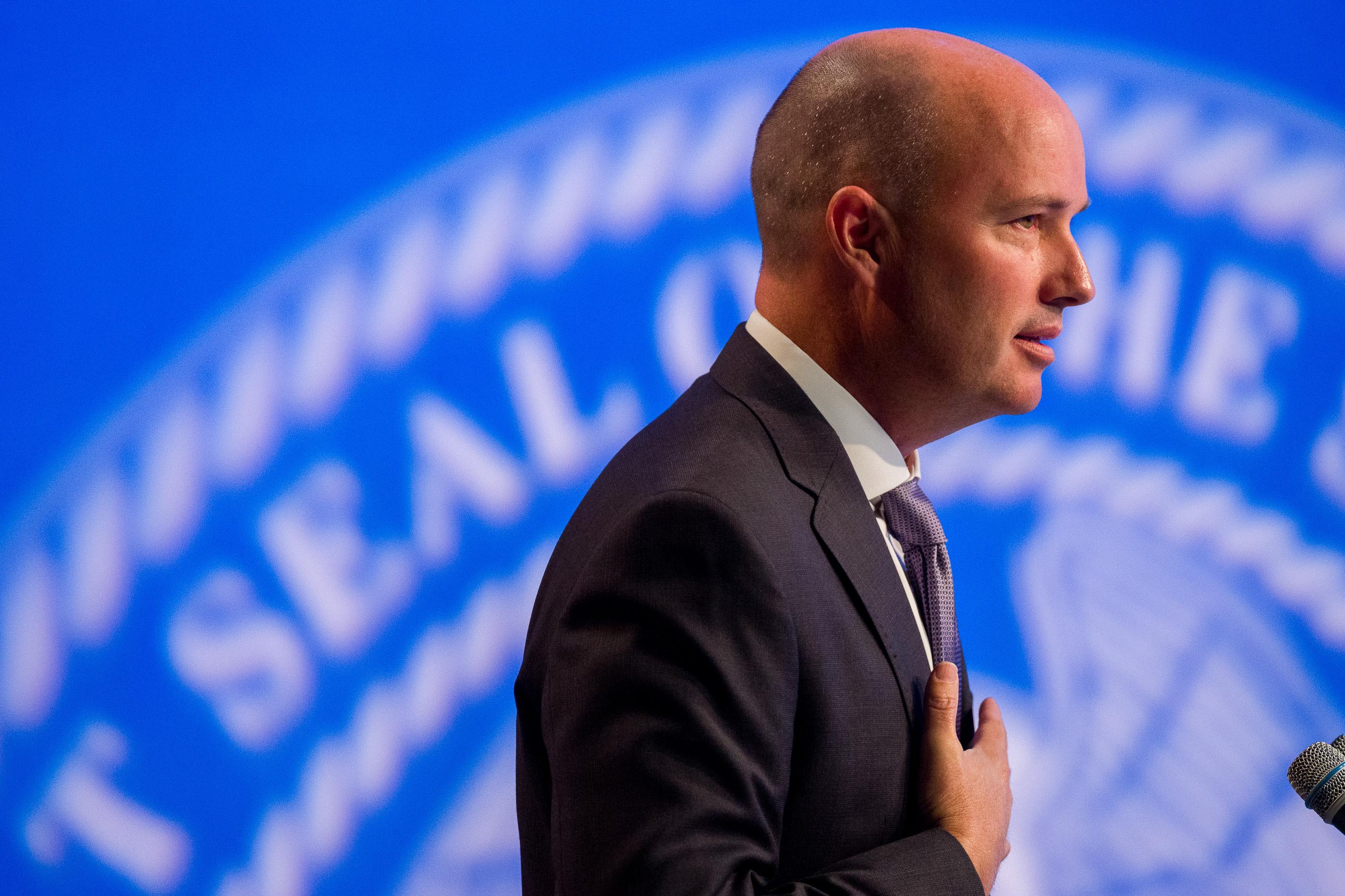 Gov. Spencer Cox speaks at his monthly news conference at PBS Utah in Salt Lake City on Thursday, Sept. 30, 2021.