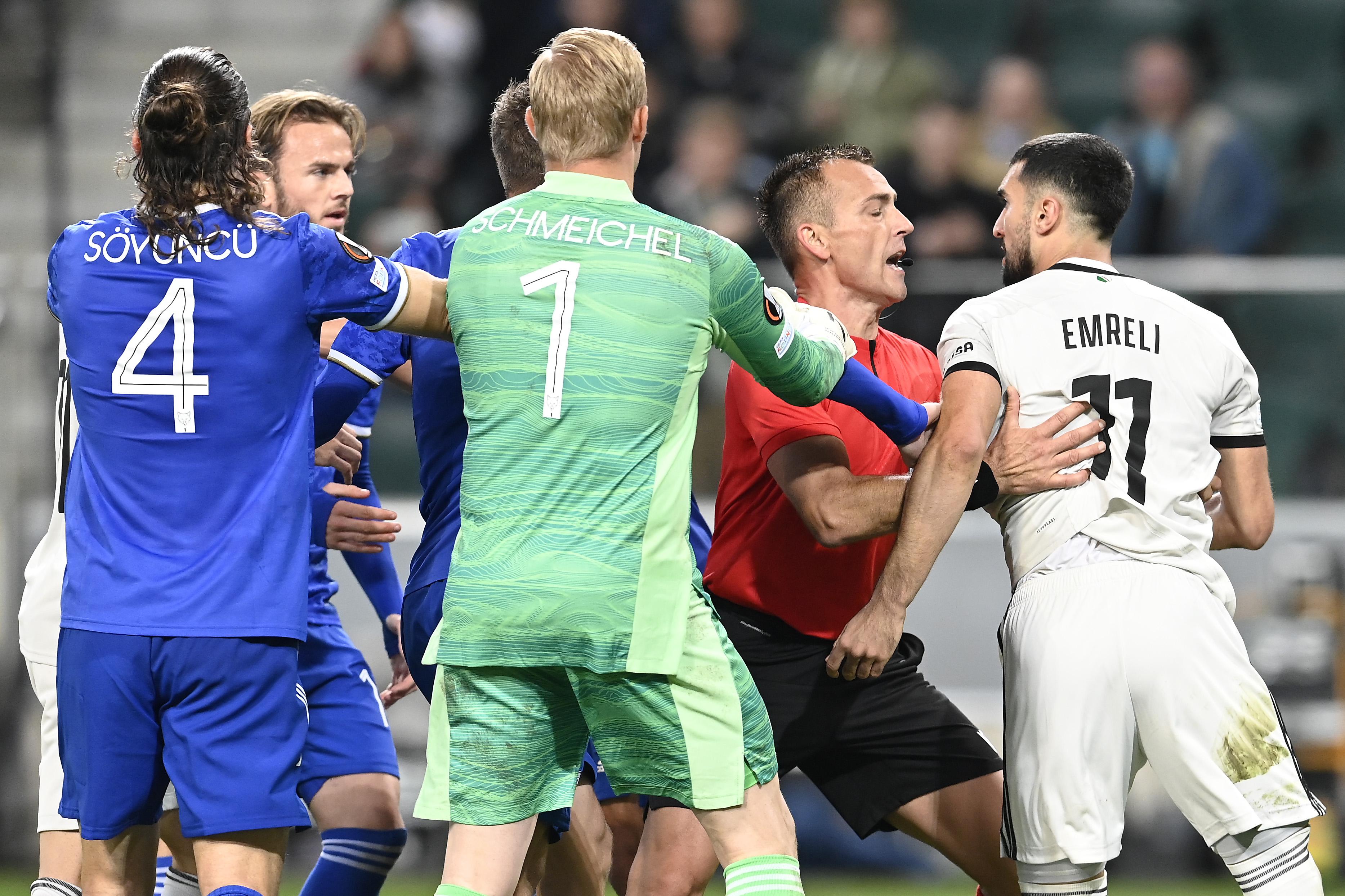 Legia Warszawa v Leicester City: Group C - UEFA Europa League