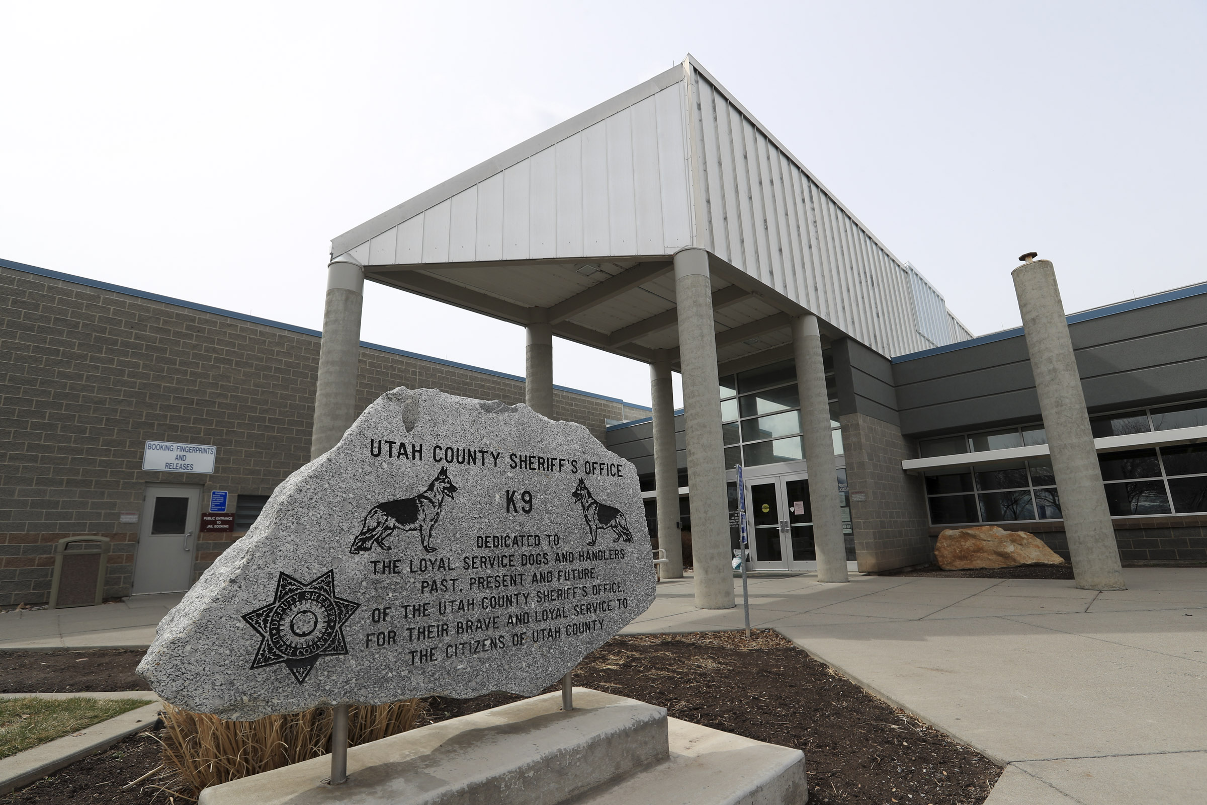 The Utah County Jail in Spanish Fork is pictured on Monday, March 22, 2021.
