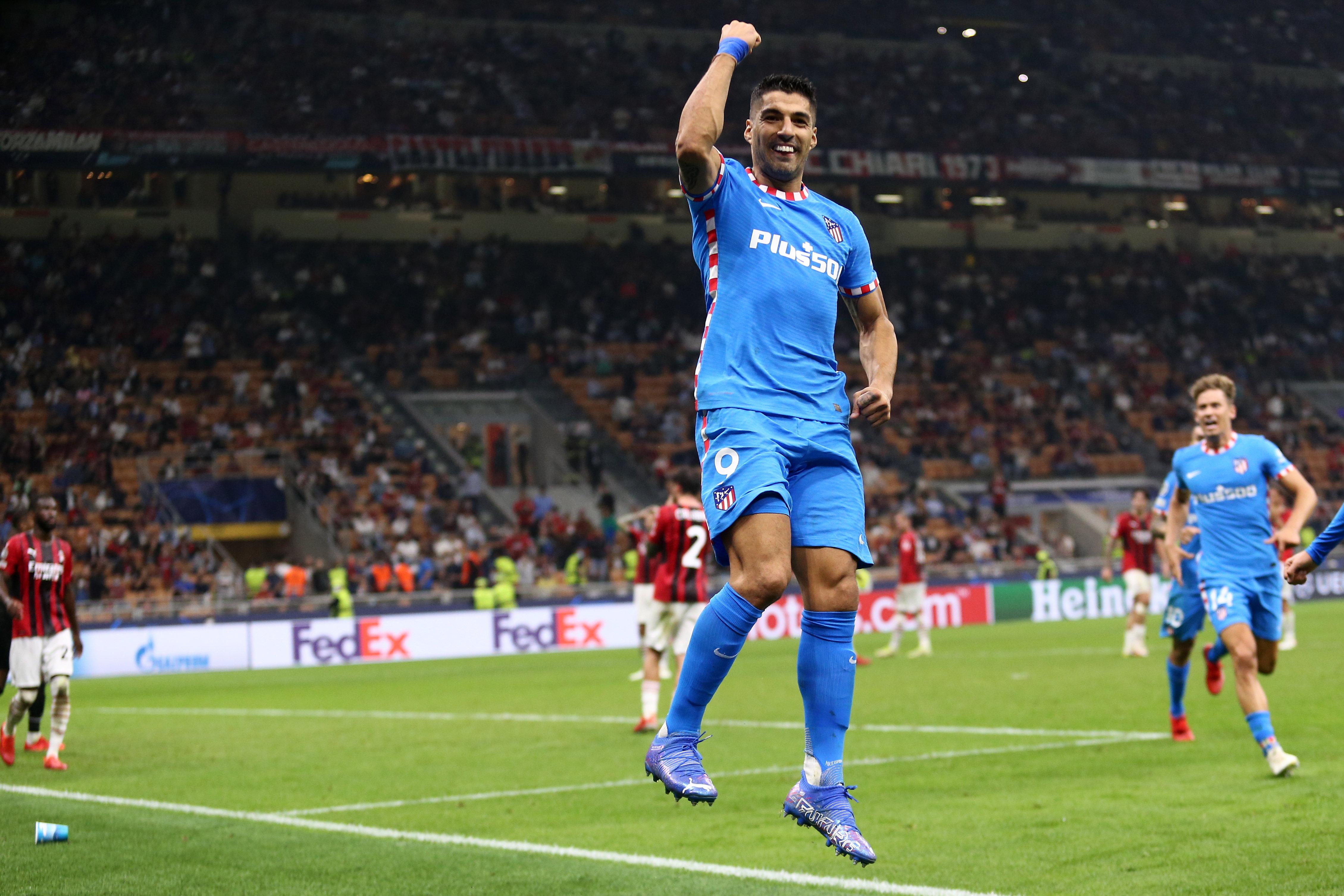 AC Milan v Atletico Madrid - Group B - UEFA Champions League