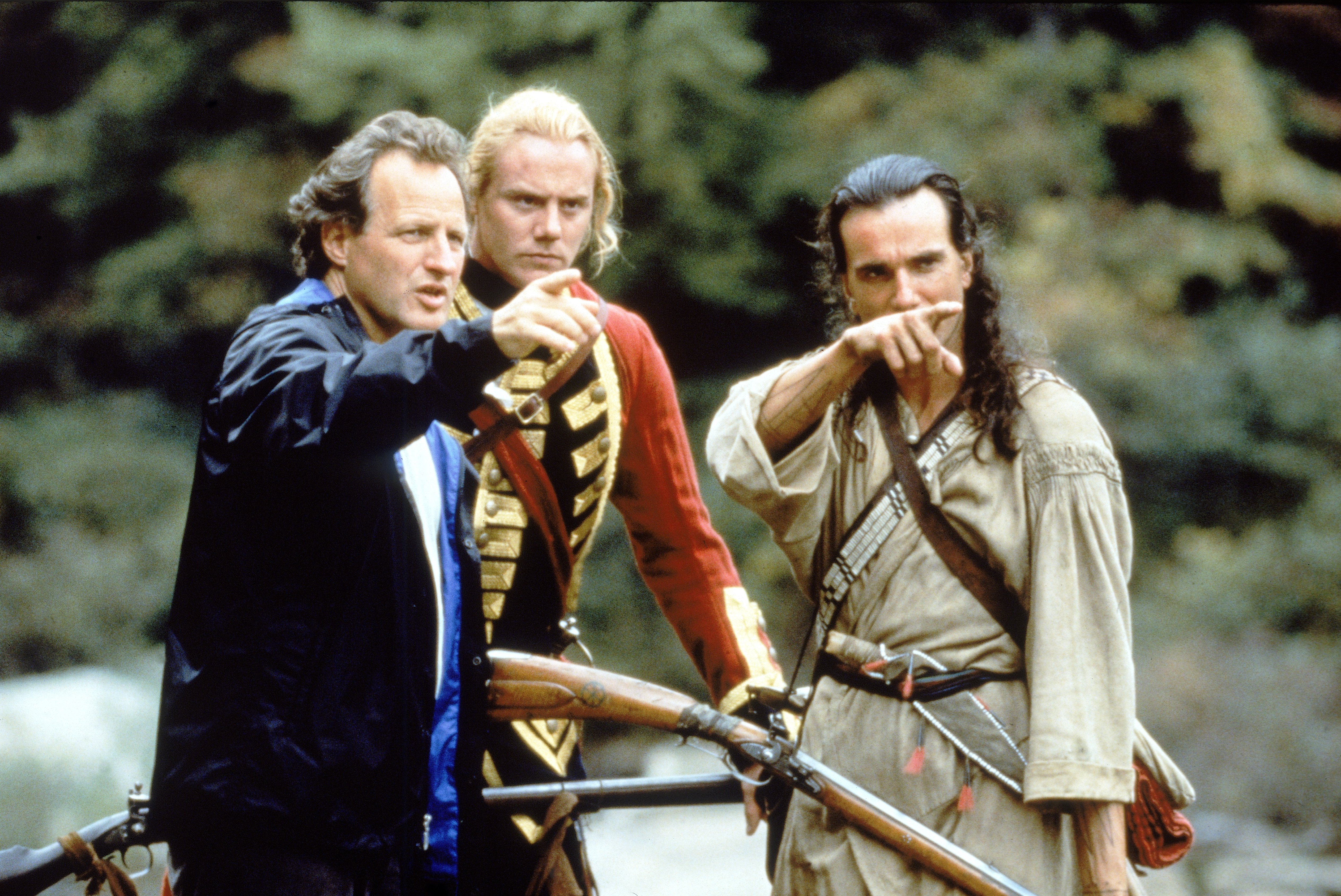On The Set Of 'Last Of The Mohicans'