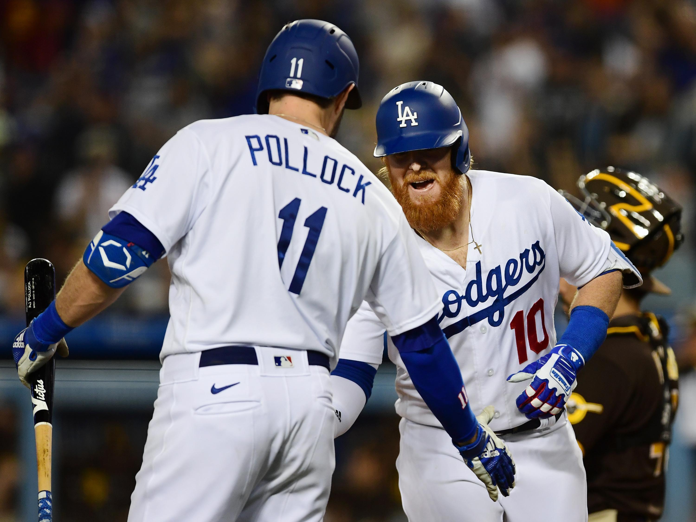 MLB: SEP 30 Padres at Dodgers