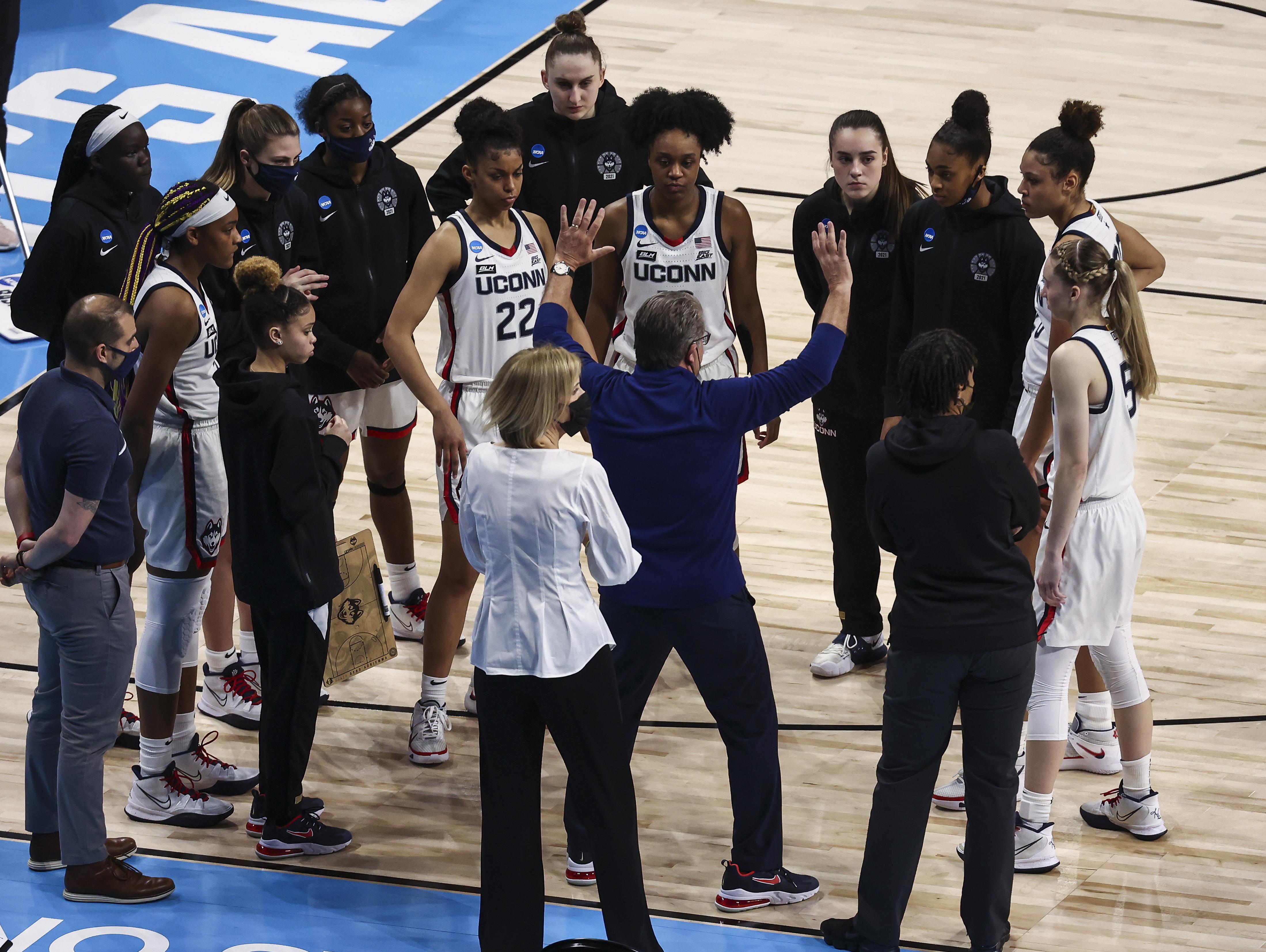 NCAA Womens Basketball: Sweet Sixteen-Iowa at Connecticut