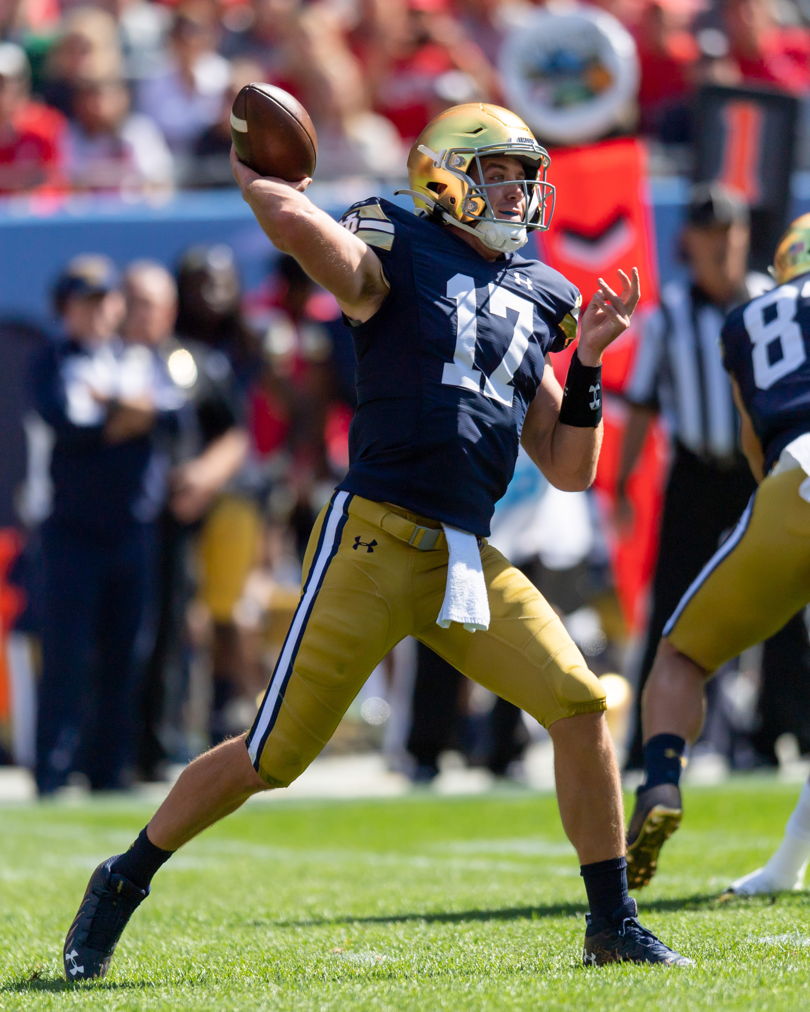 NCAA Football: Notre Dame at Wisconsin