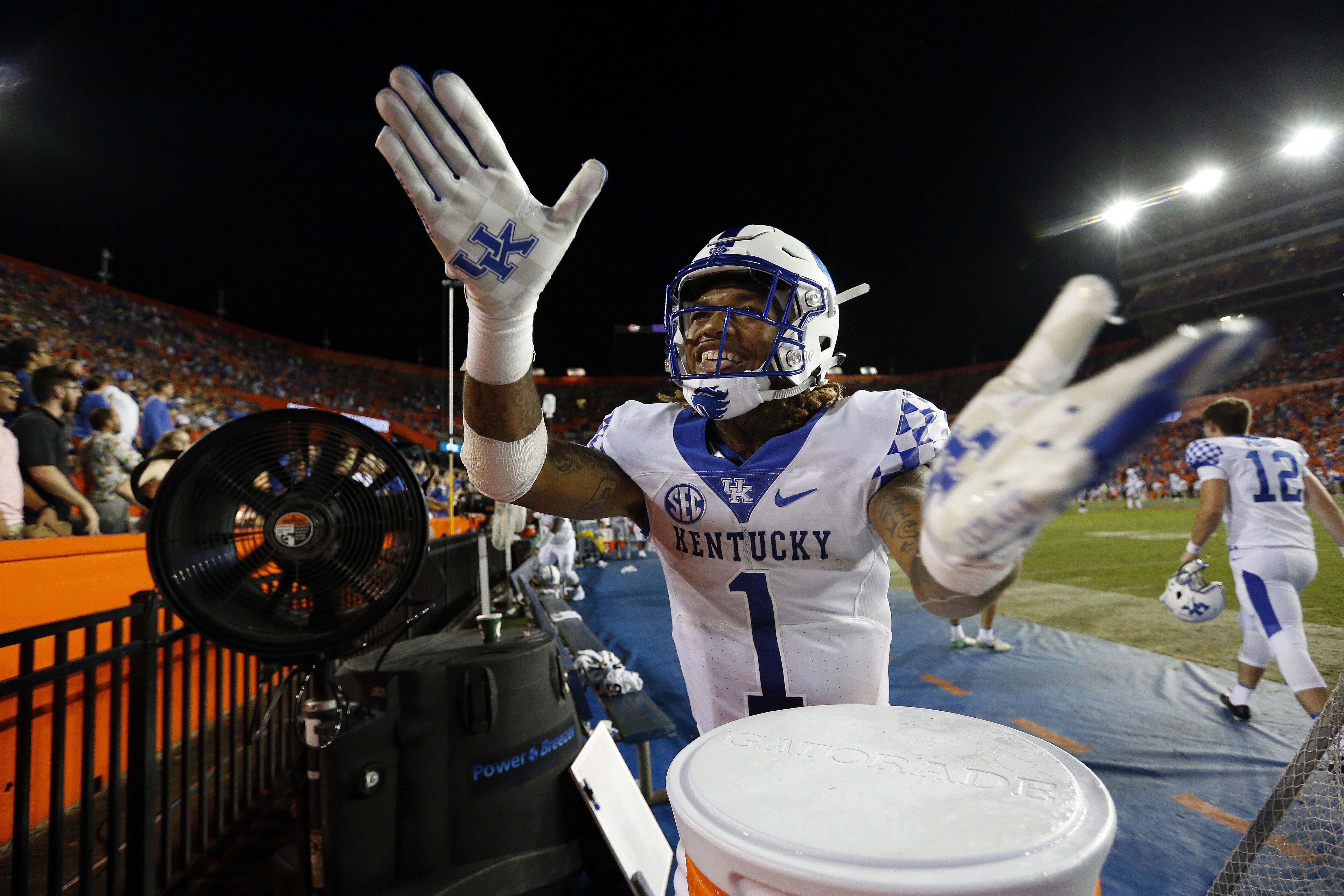 NCAA Football: Kentucky at Florida