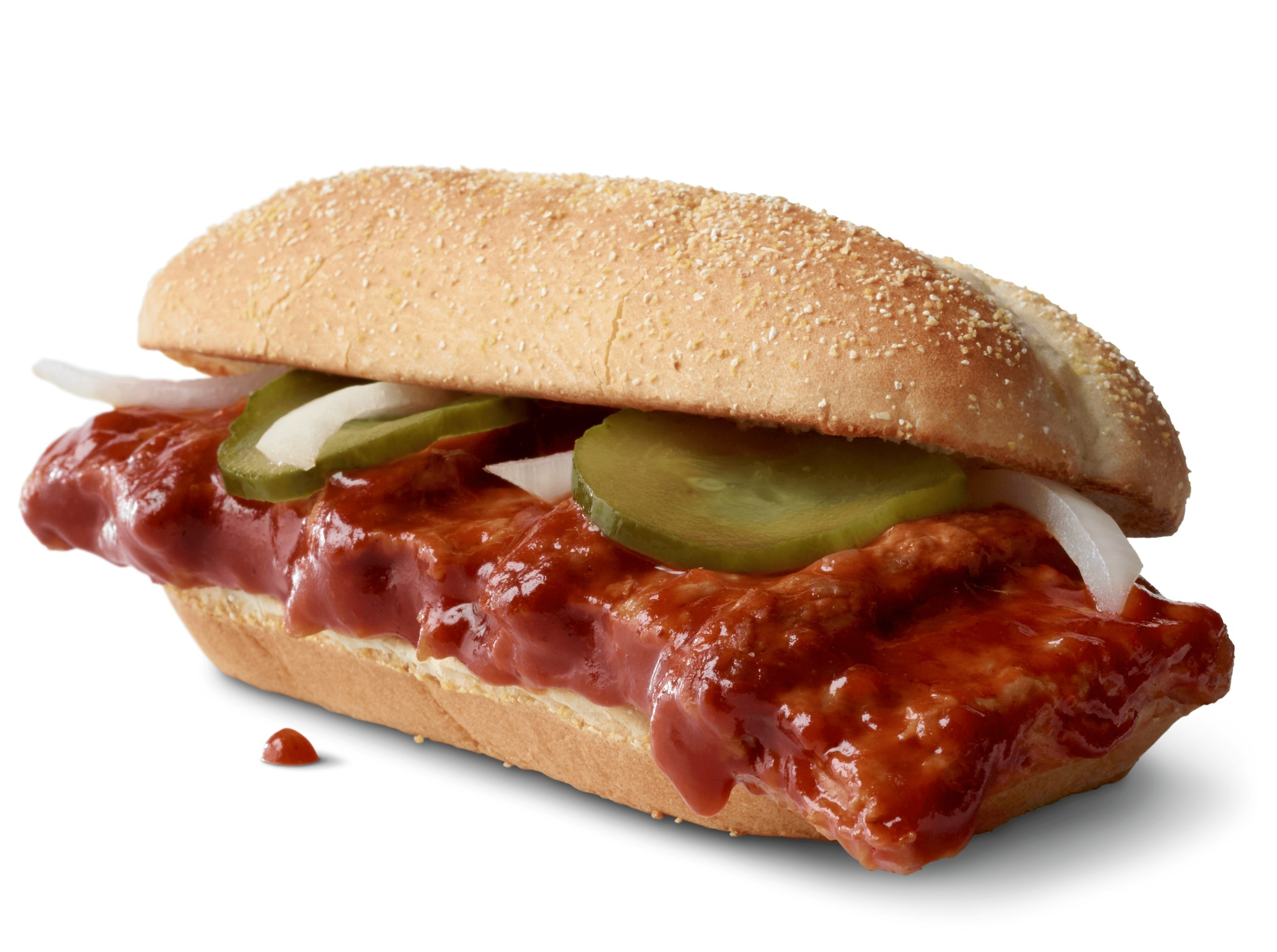 The McRib is back at McDonald's this fall, marking the 40th anniversary of its debut.