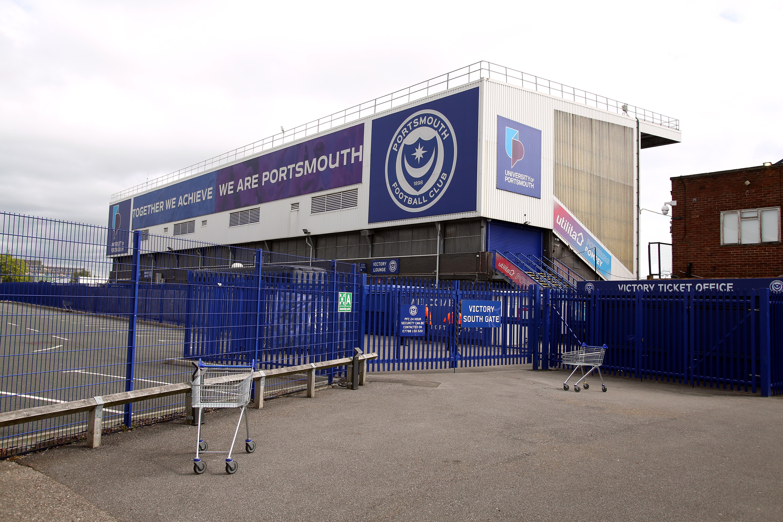 Portsmouth v Accrington Stanley - Sky Bet League One - Fratton Park