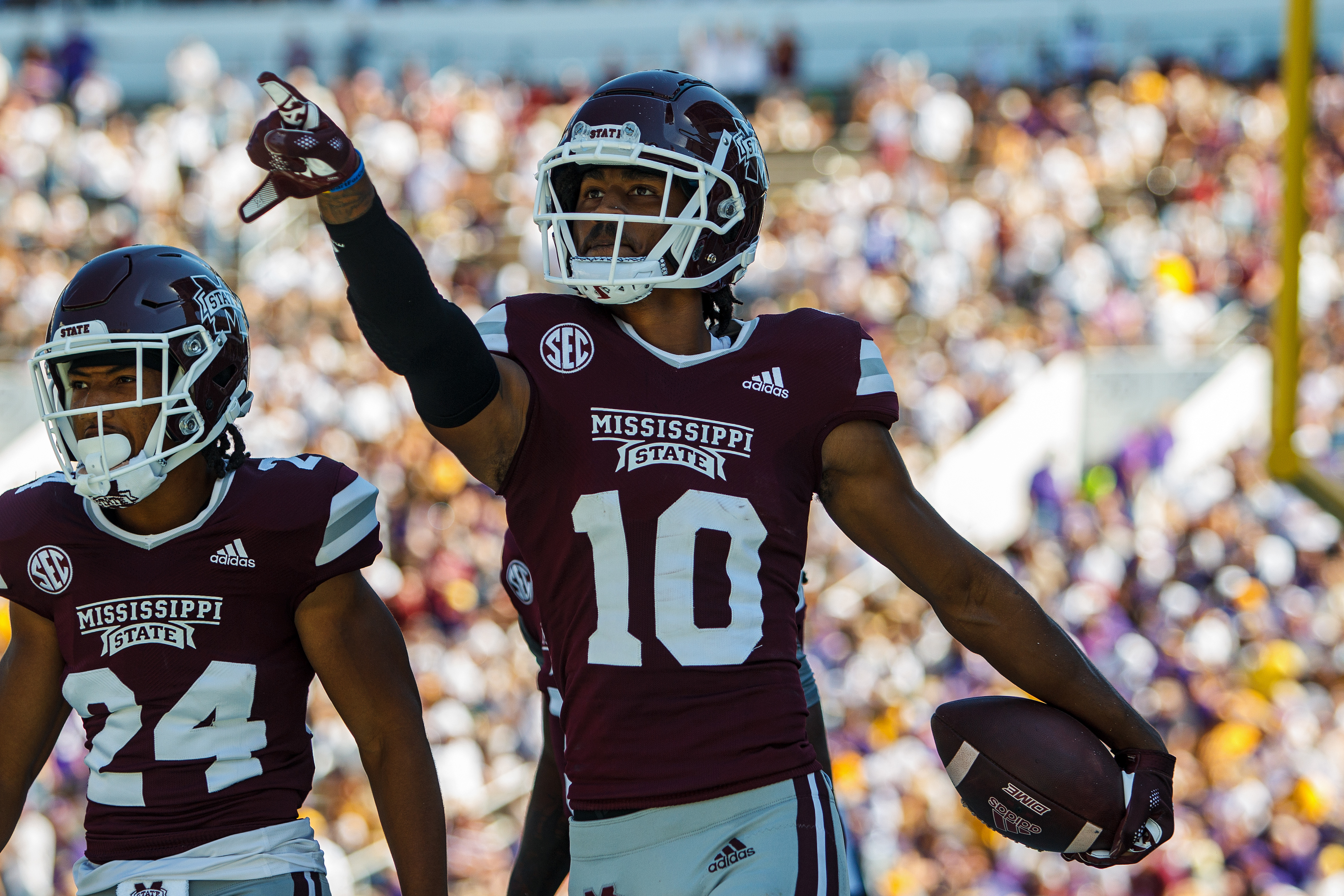 COLLEGE FOOTBALL: SEP 25 LSU at Mississippi State