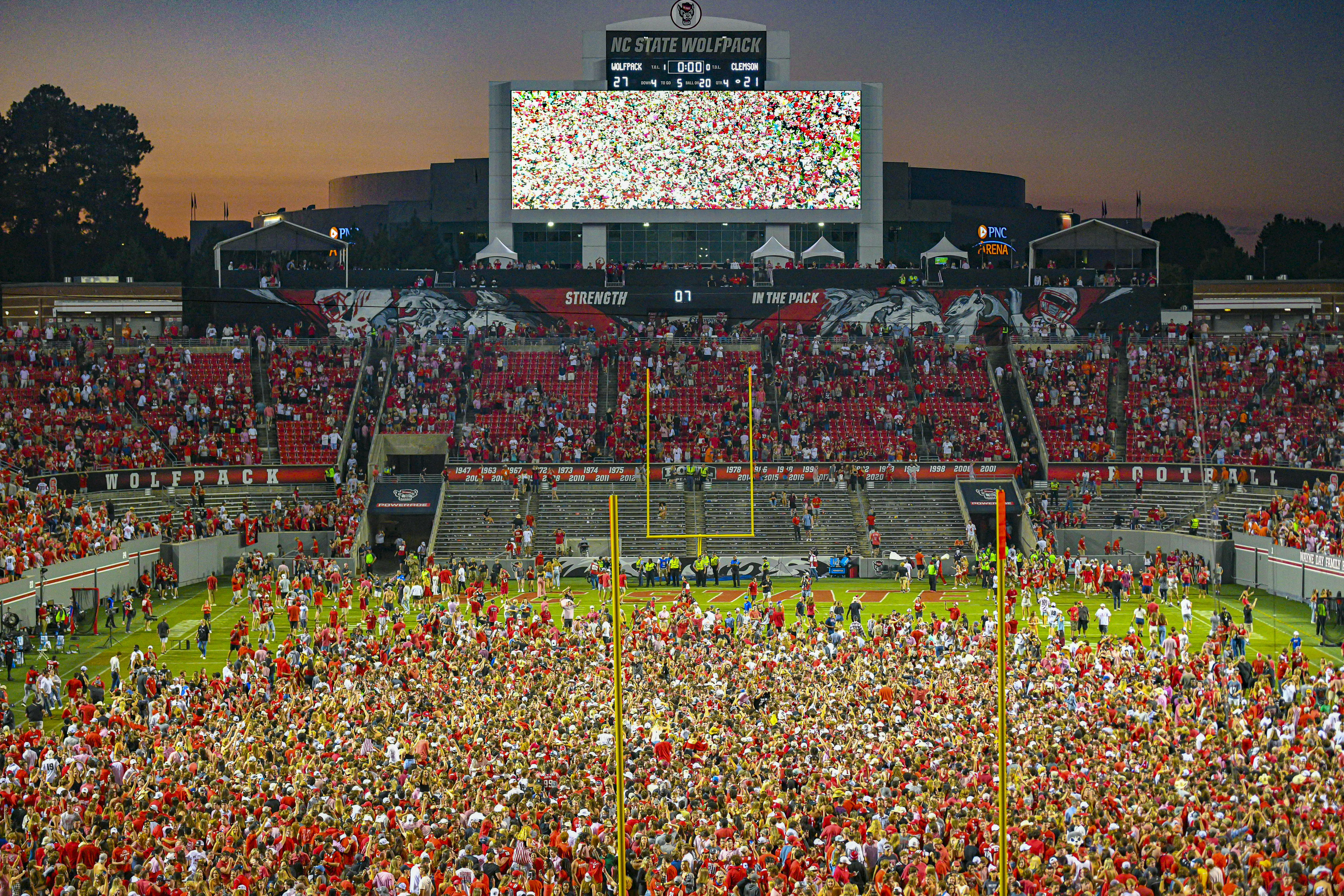 COLLEGE FOOTBALL: SEP 25 Clemson at NC State