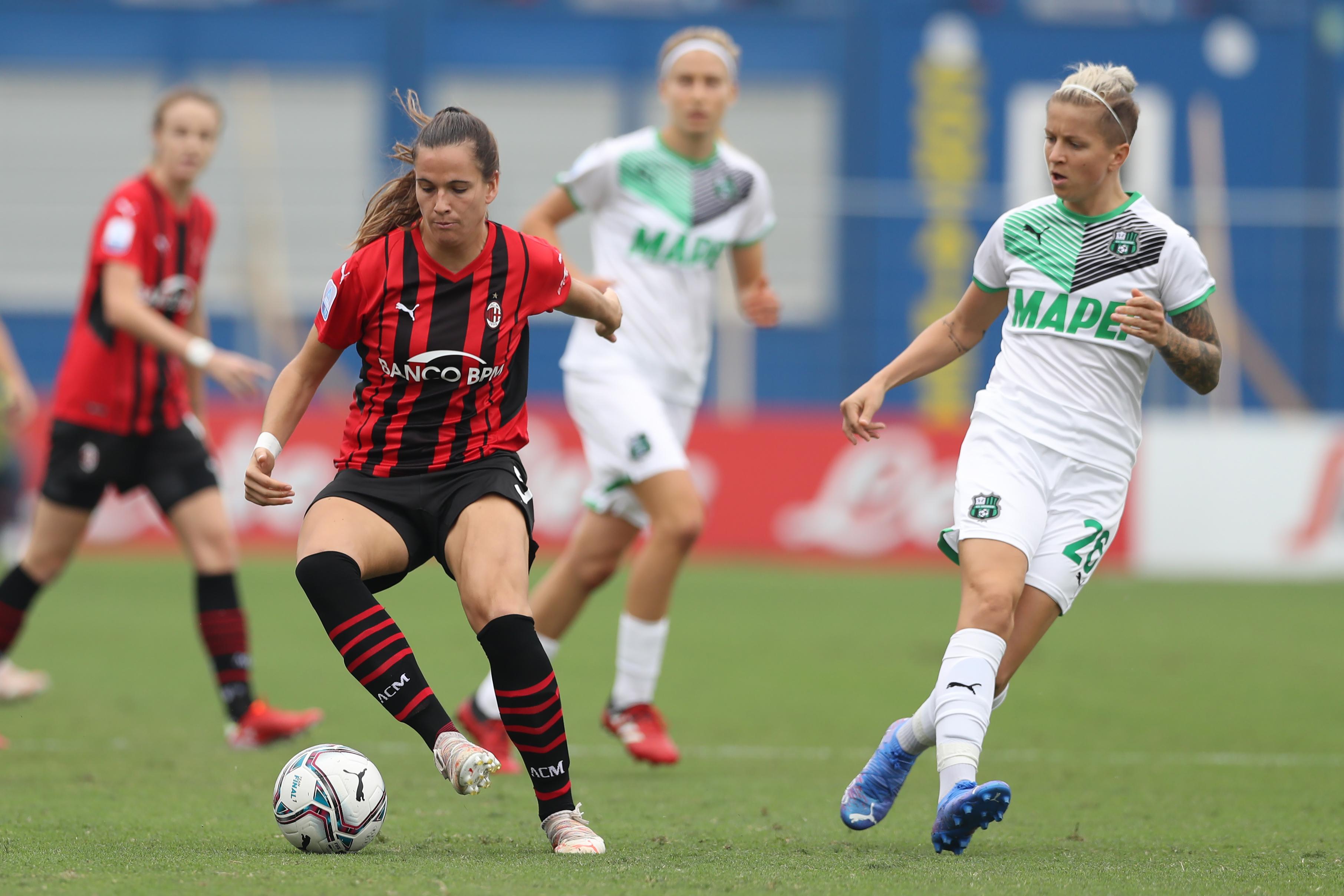 AC Milan v Sassuolo - Women Serie A