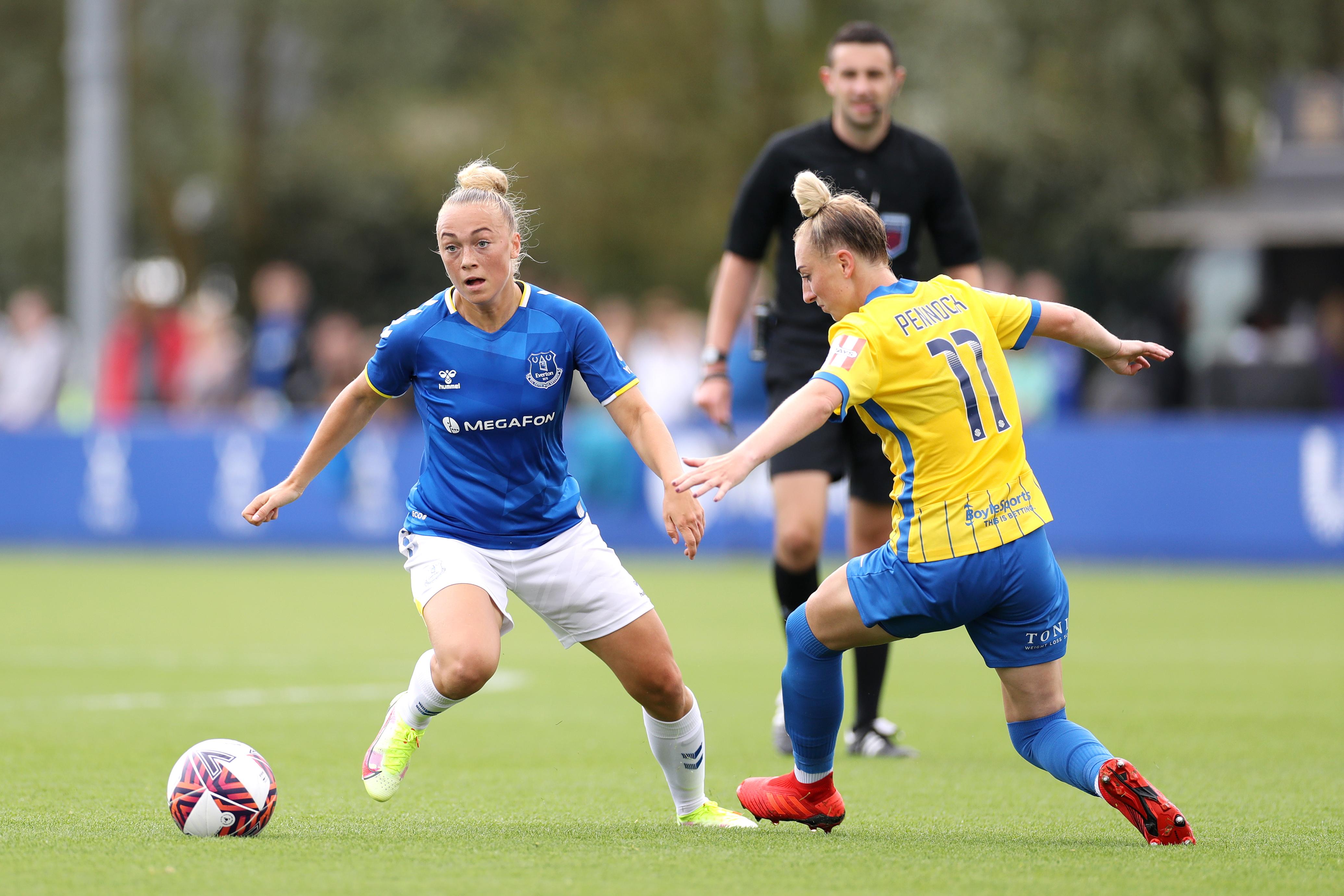Everton Women v Birmingham City Women - Barclays FA Women's Super League
