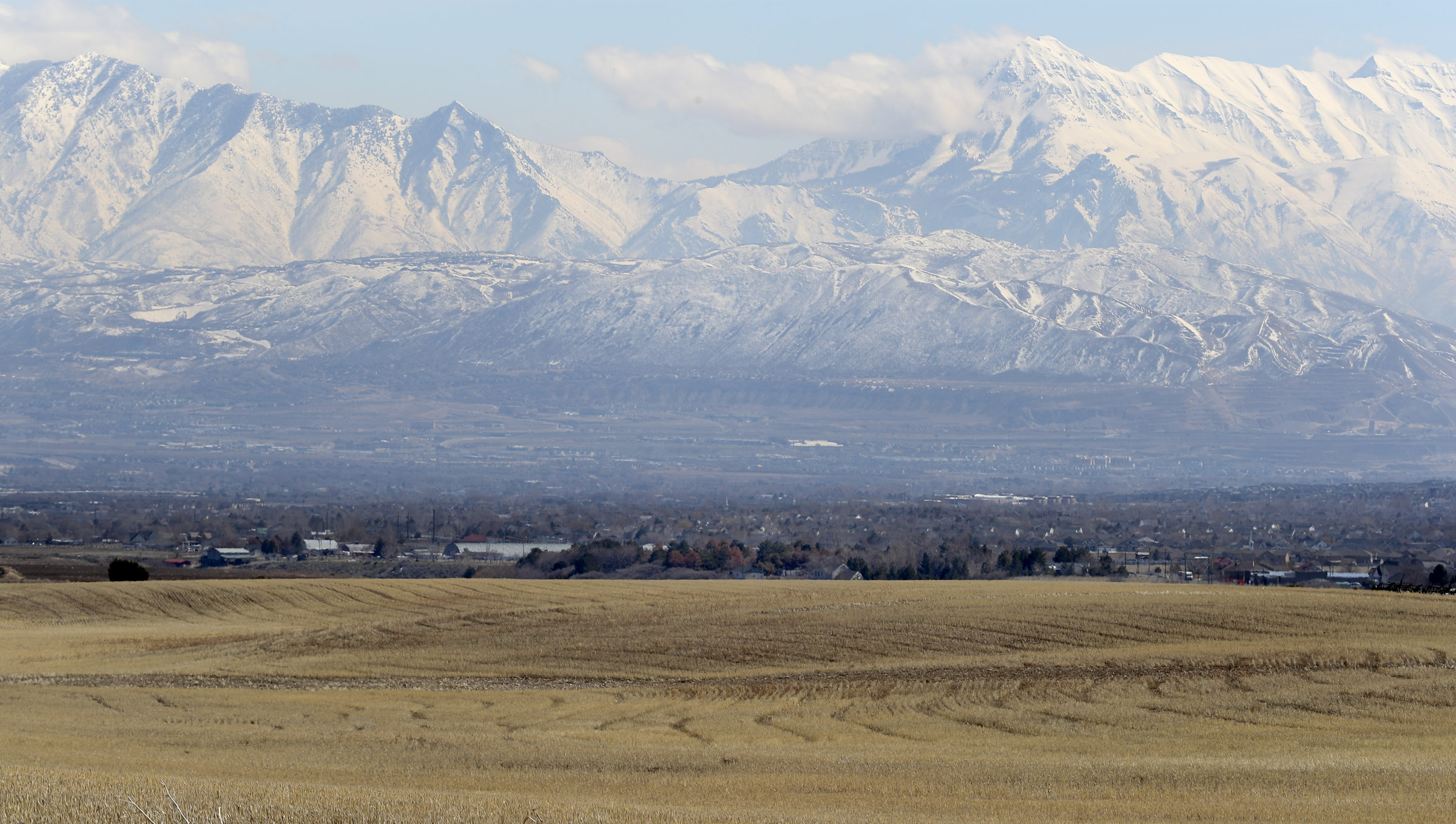 Land between 6300 West and 8500 West and 12400 South and 13100 South in unincorporated Salt Lake County is pictured.