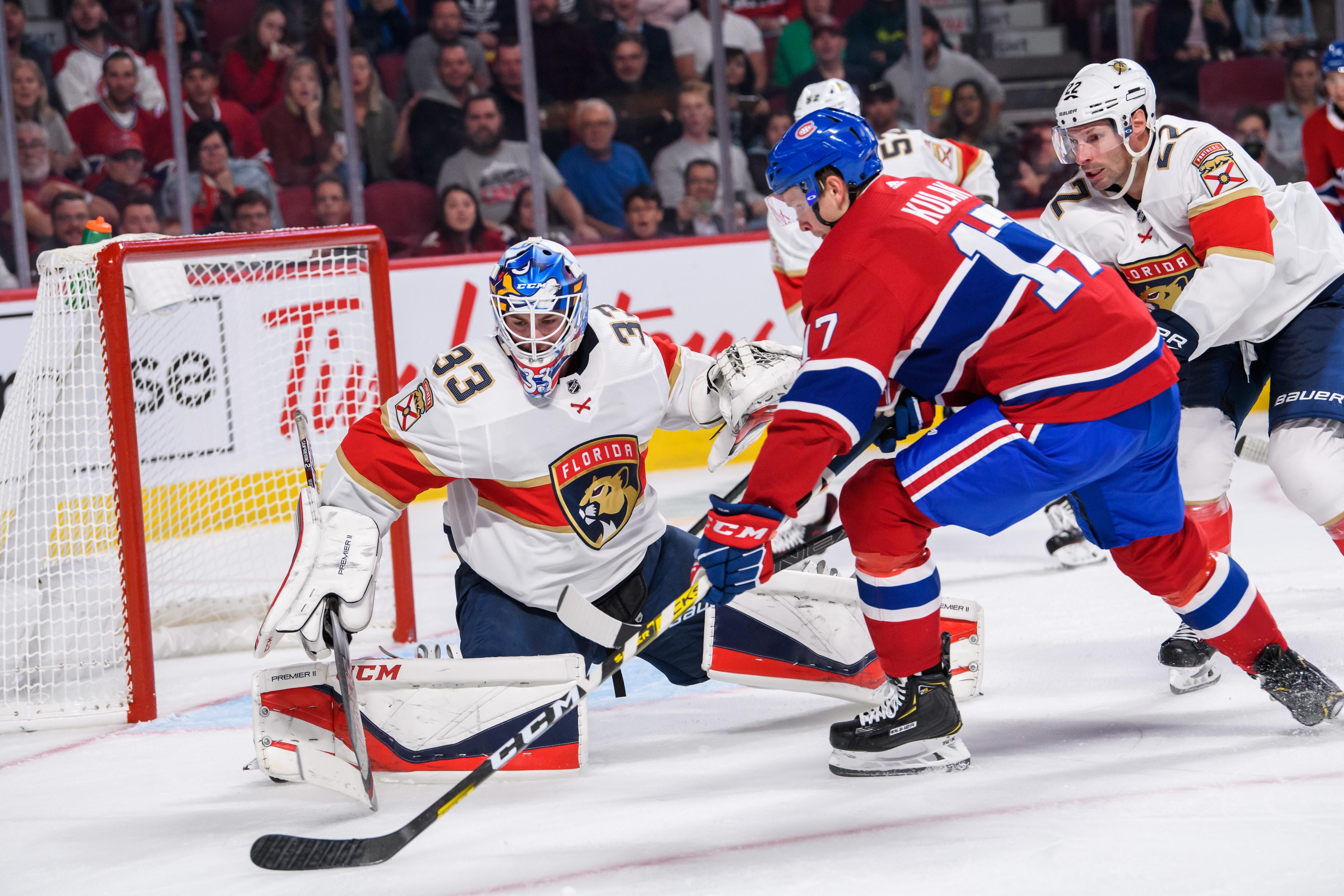 NHL: SEP 19 Preseason - Panthers at Canadiens