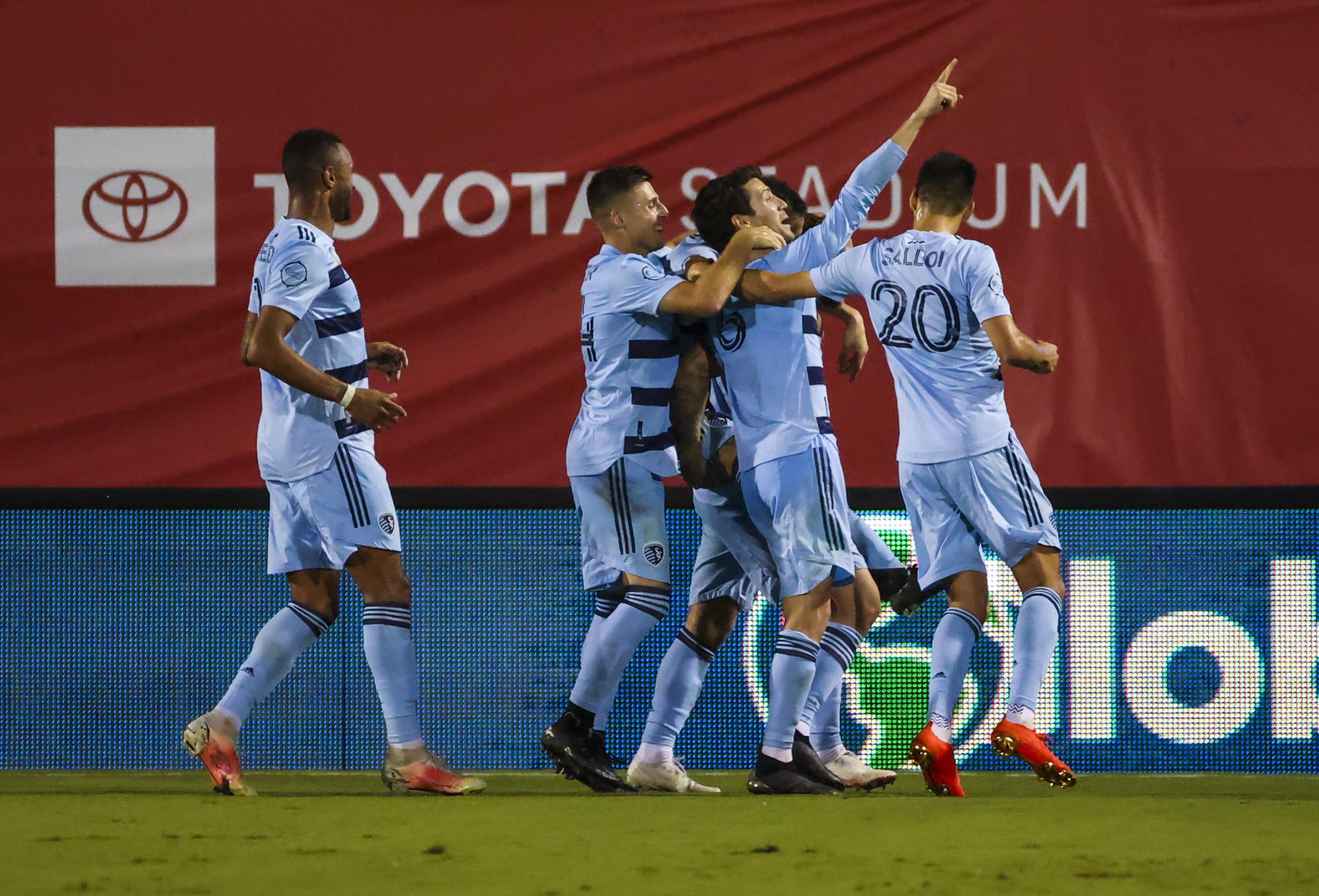 MLS: Sporting Kansas City at FC Dallas