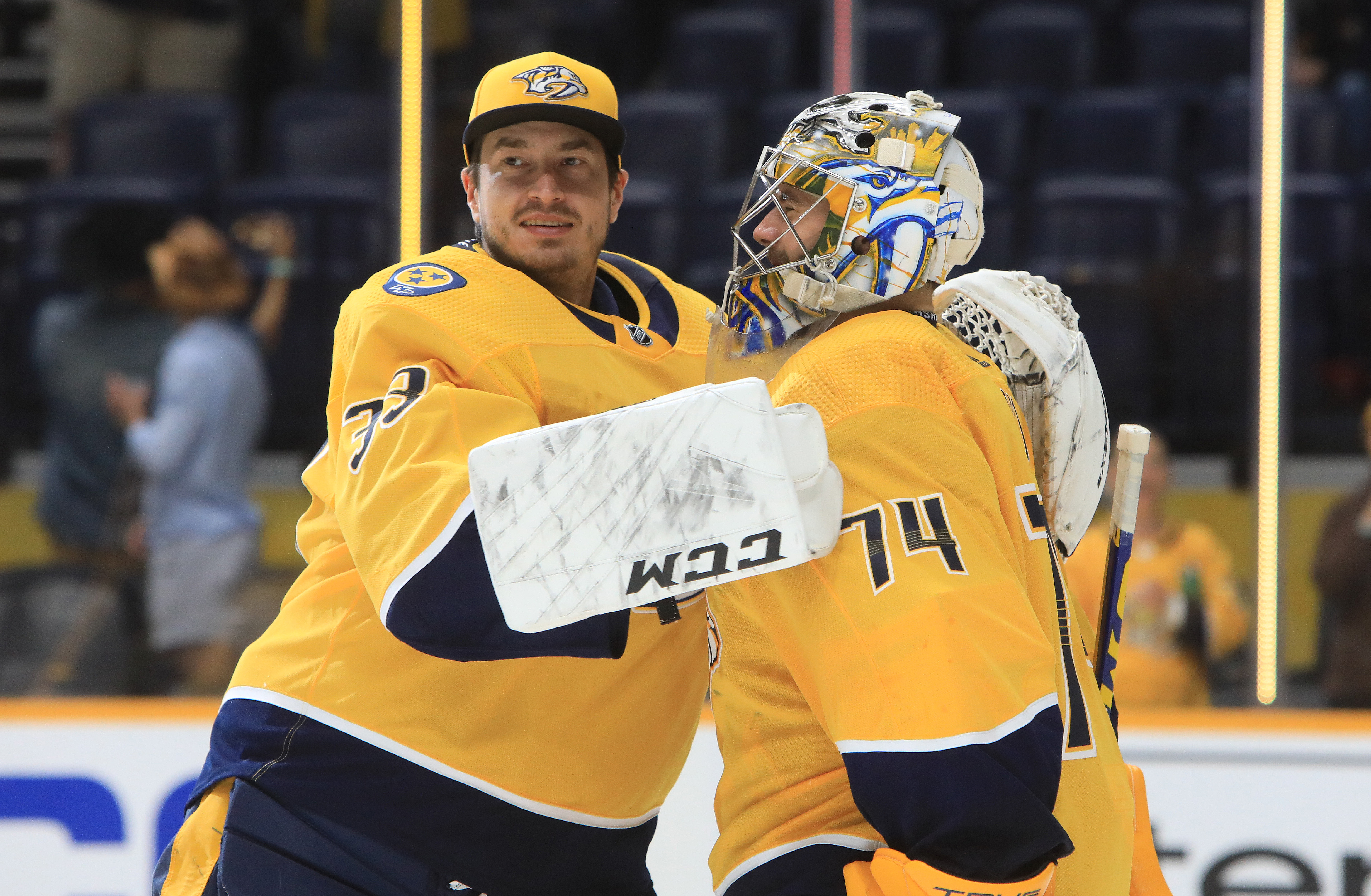NHL: OCT 02 Lightning at Predators