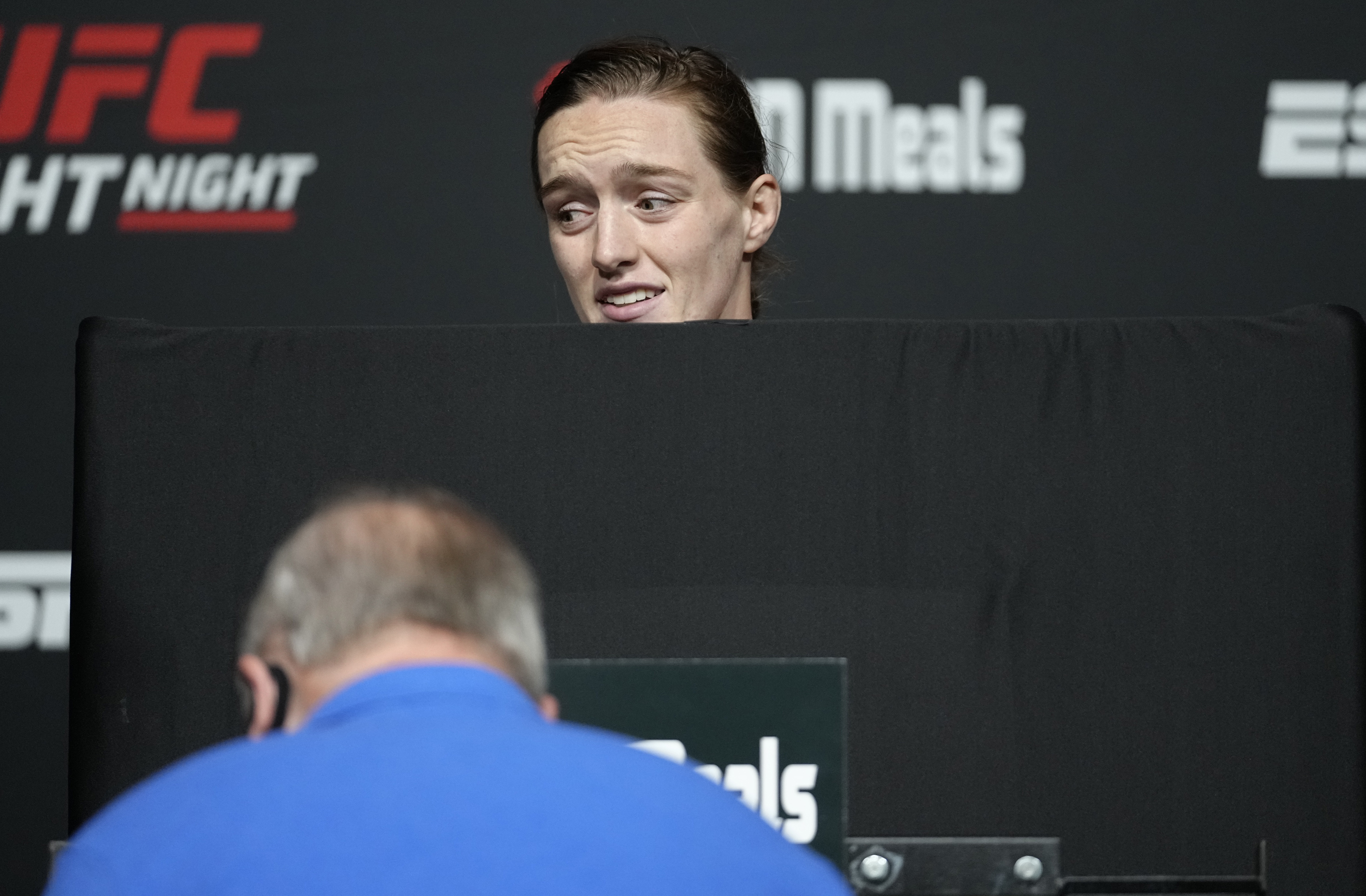 Aspen Ladd badly missed weight for UFC Vegas 38.