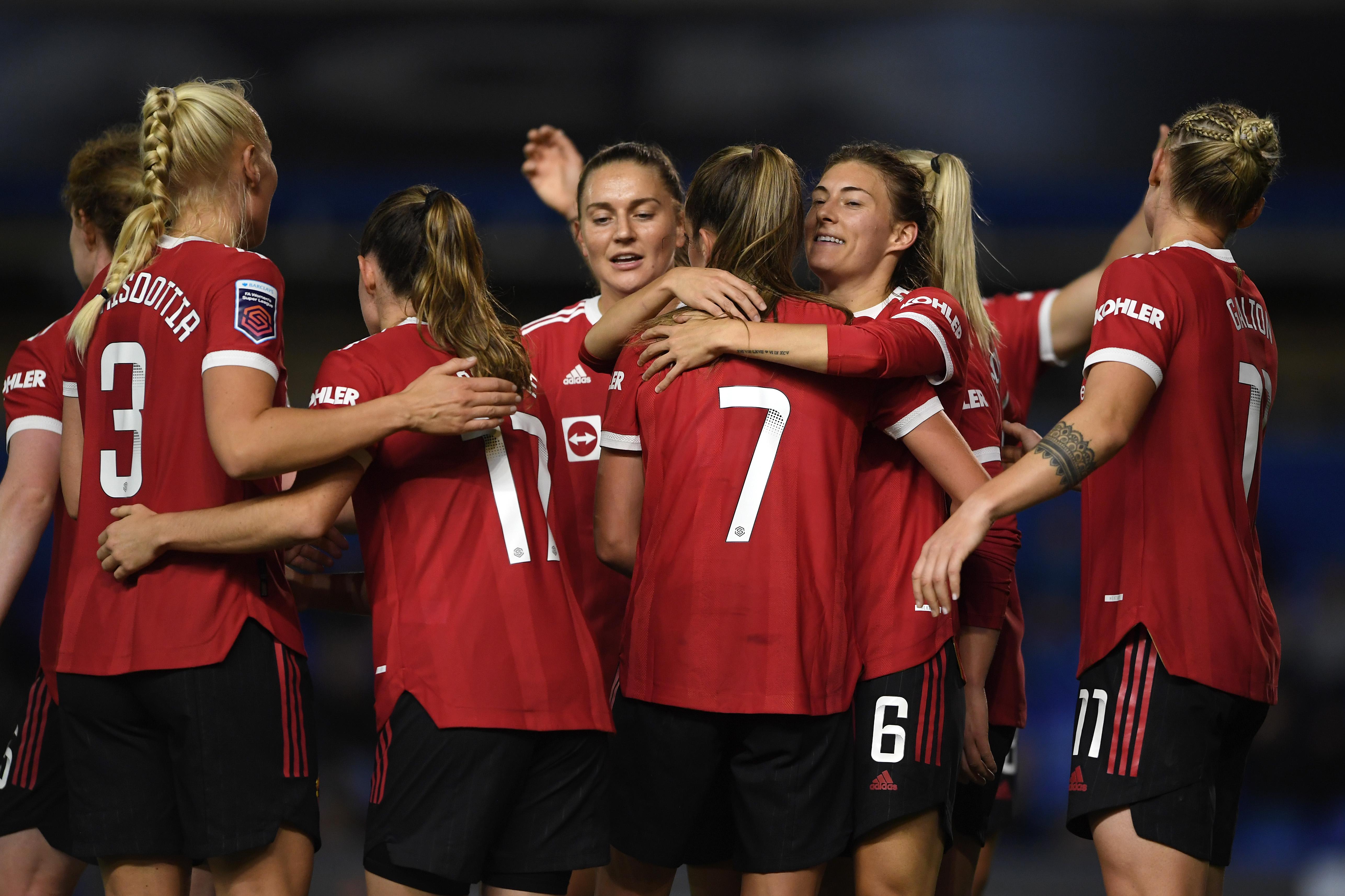 Birmingham City Women v Manchester United Women - Barclays FA Women's Super League