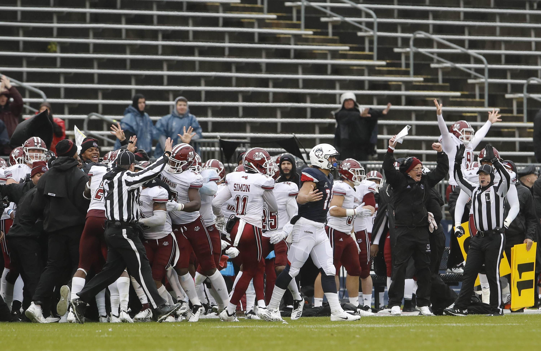 NCAA Football: Massachusetts at Connecticut