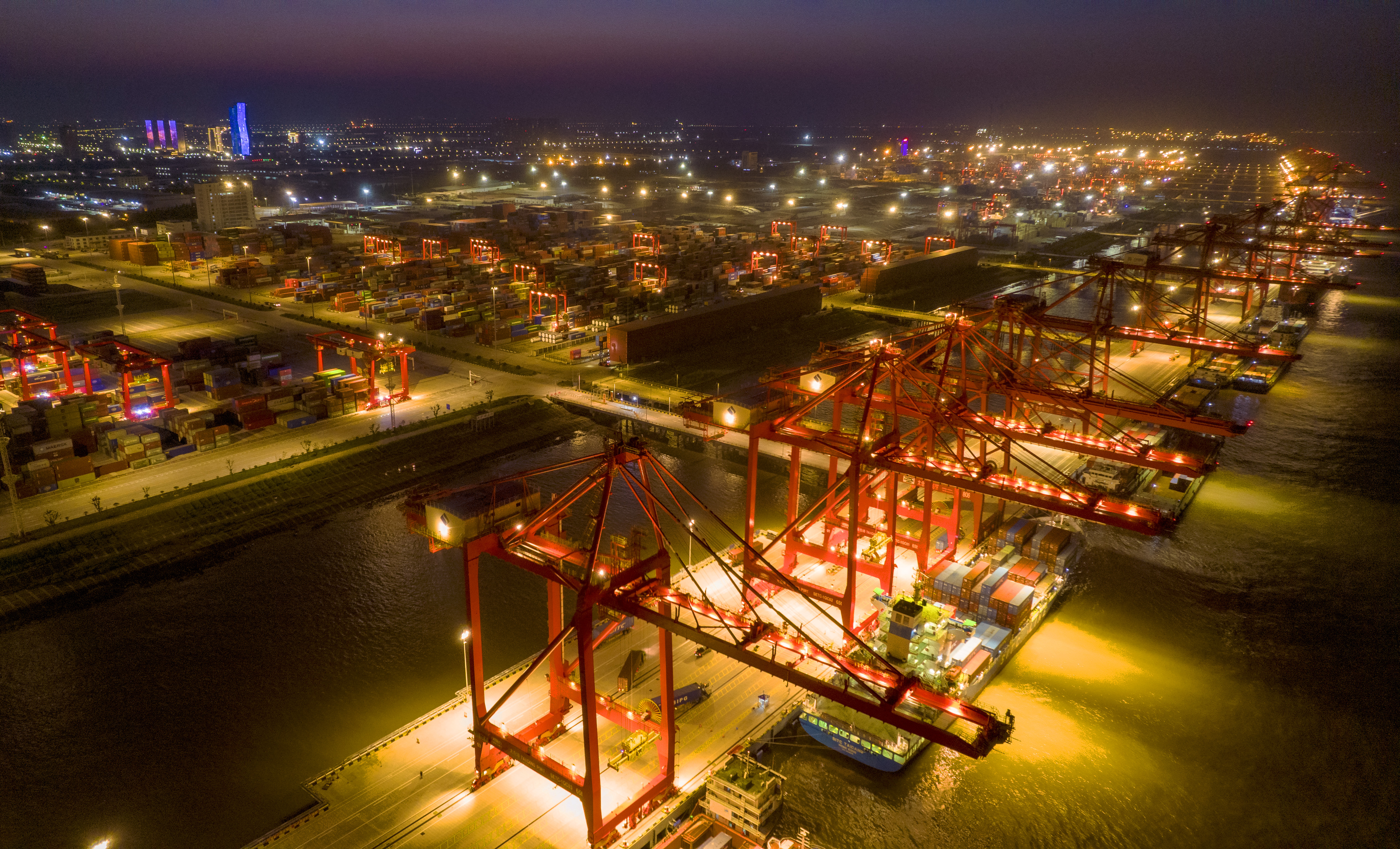 Taicang Port Container Terminal