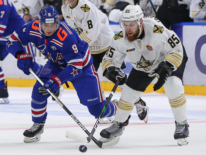 Kontinental Hockey League: HC SKA St Petersburg vs Admiral Vladivostok