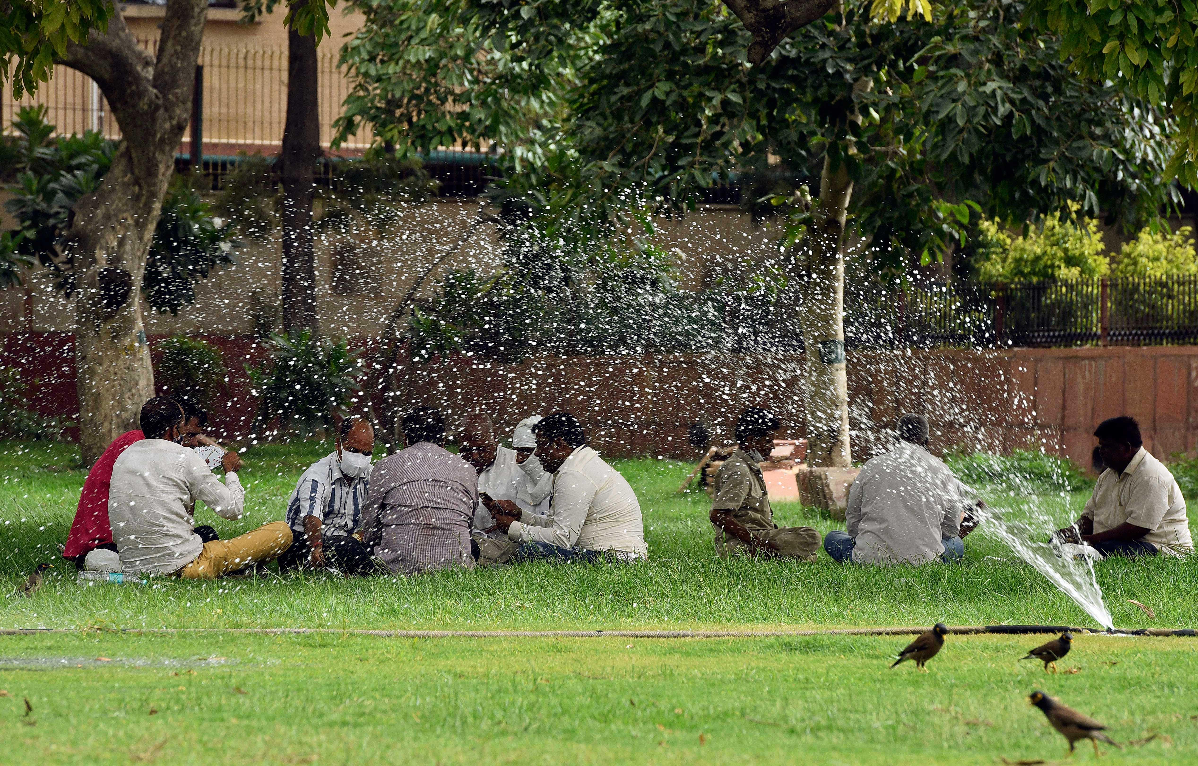 Severe Heatwave In Delhi NCR